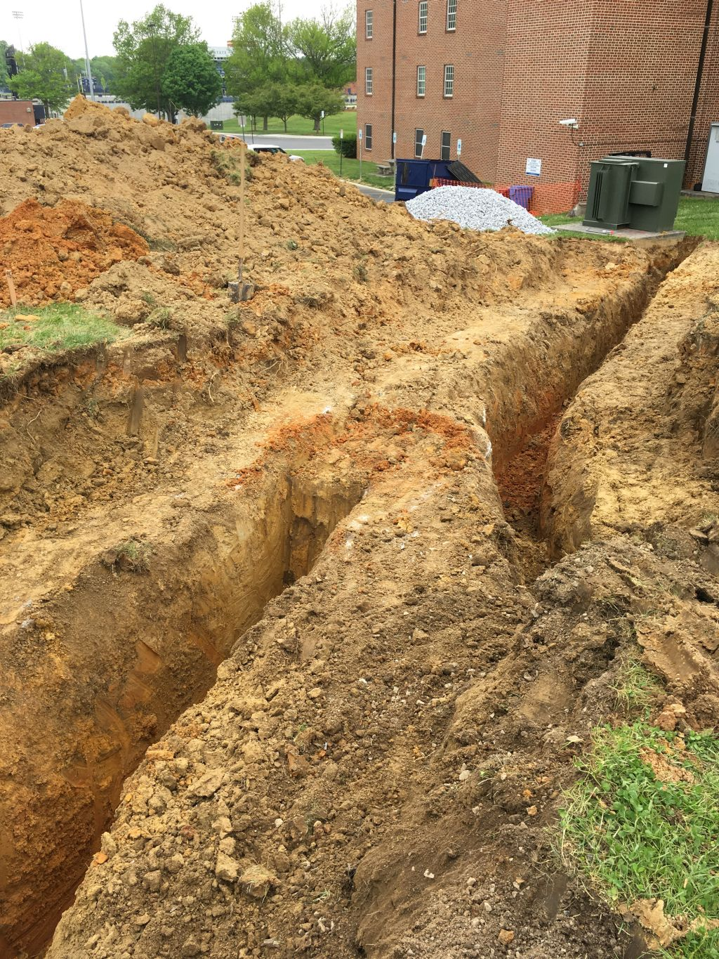 New Ditch with Crossing Unidentified Concrete Covered Conduit.jpg