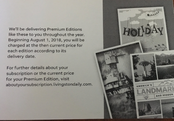 It's time for another round of Gannett Premium Editions That No One Wants!
