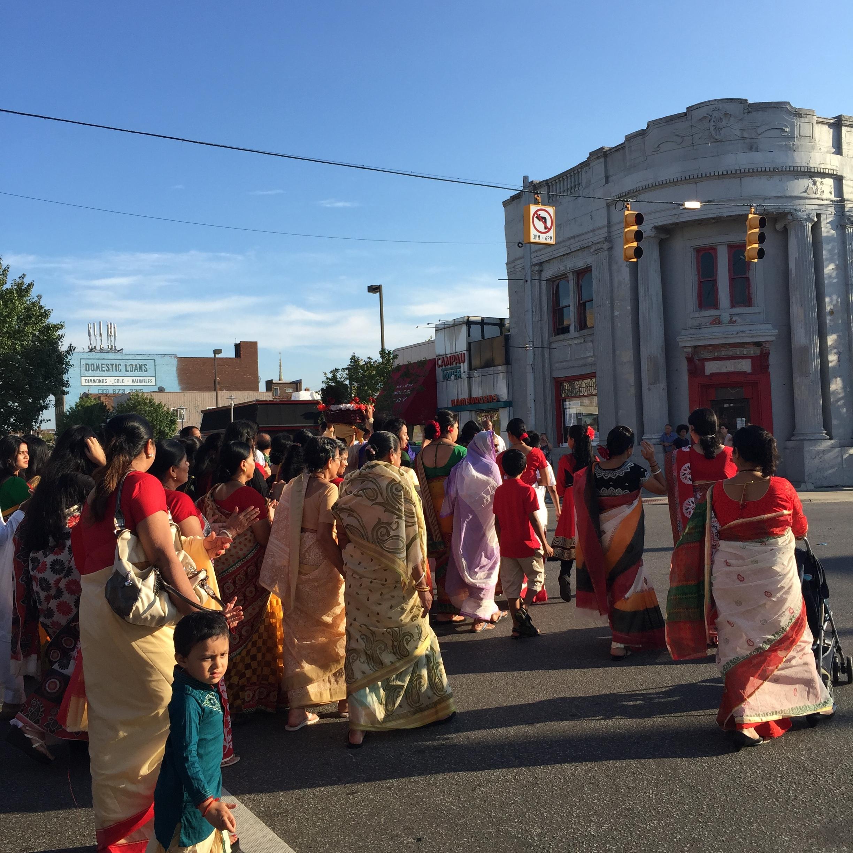 Lord Krishna Birthday Parade