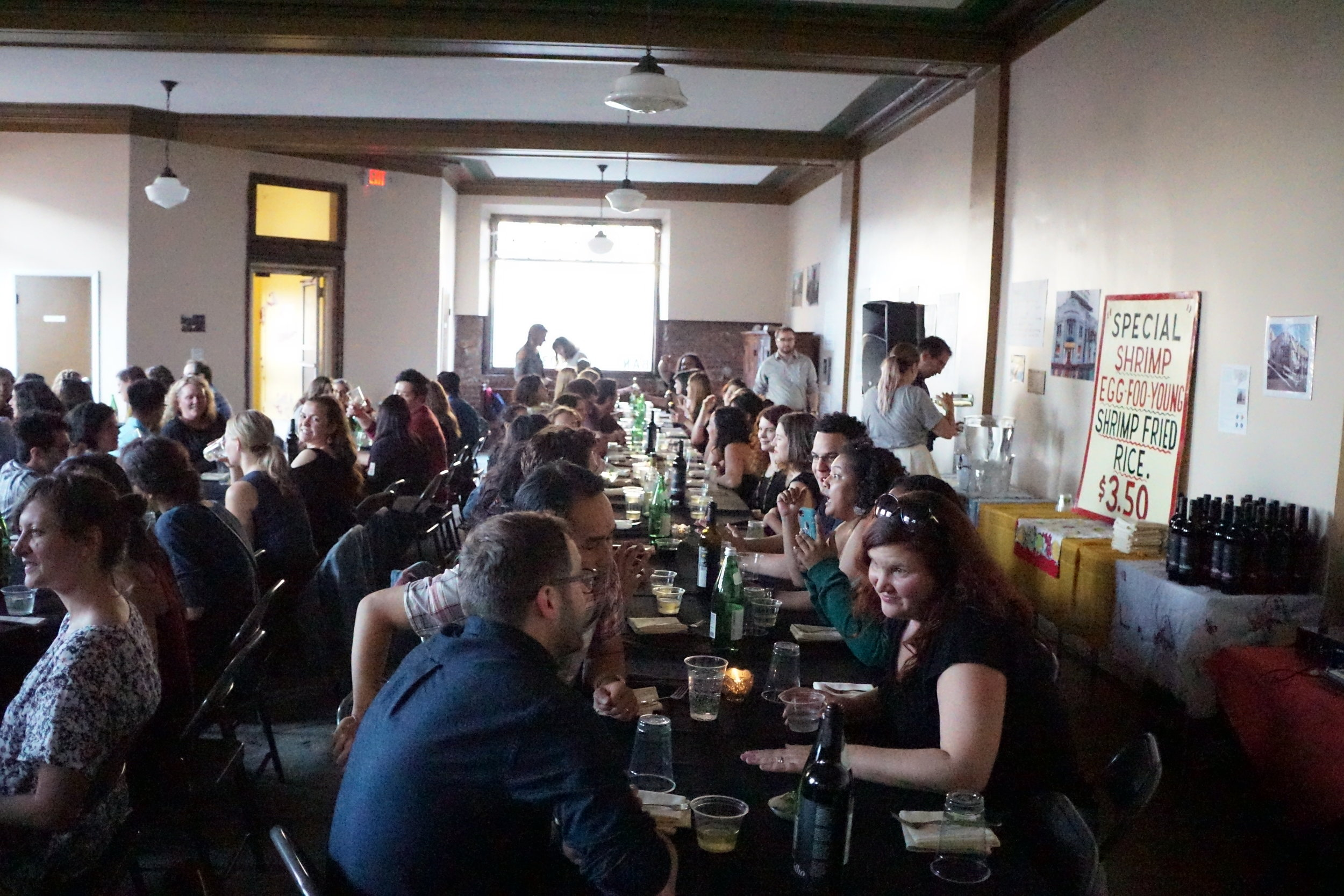 826 Michigan Staff Dinner with Takoi