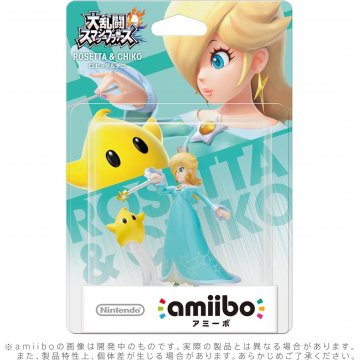 "The Japanese Rosalina & Luma amiibo has a different English name, ""Rosetta & Chiko"""