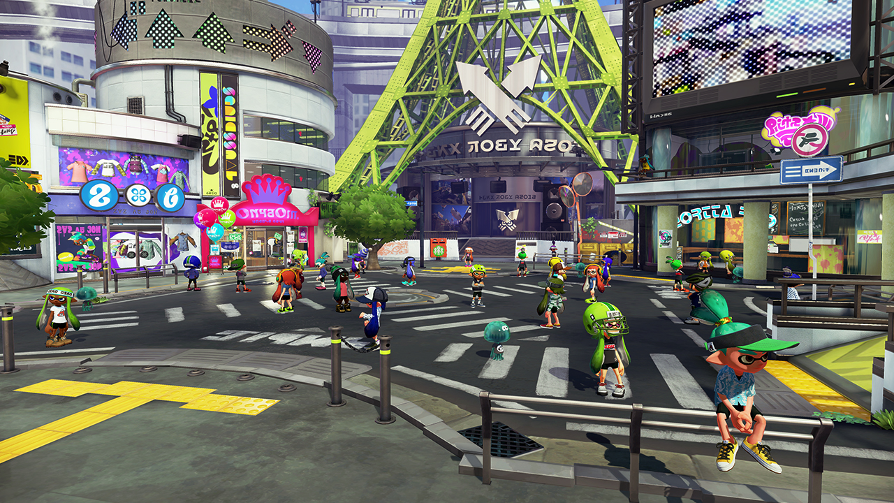 Welcome to Inkopolis, where the party never stops.