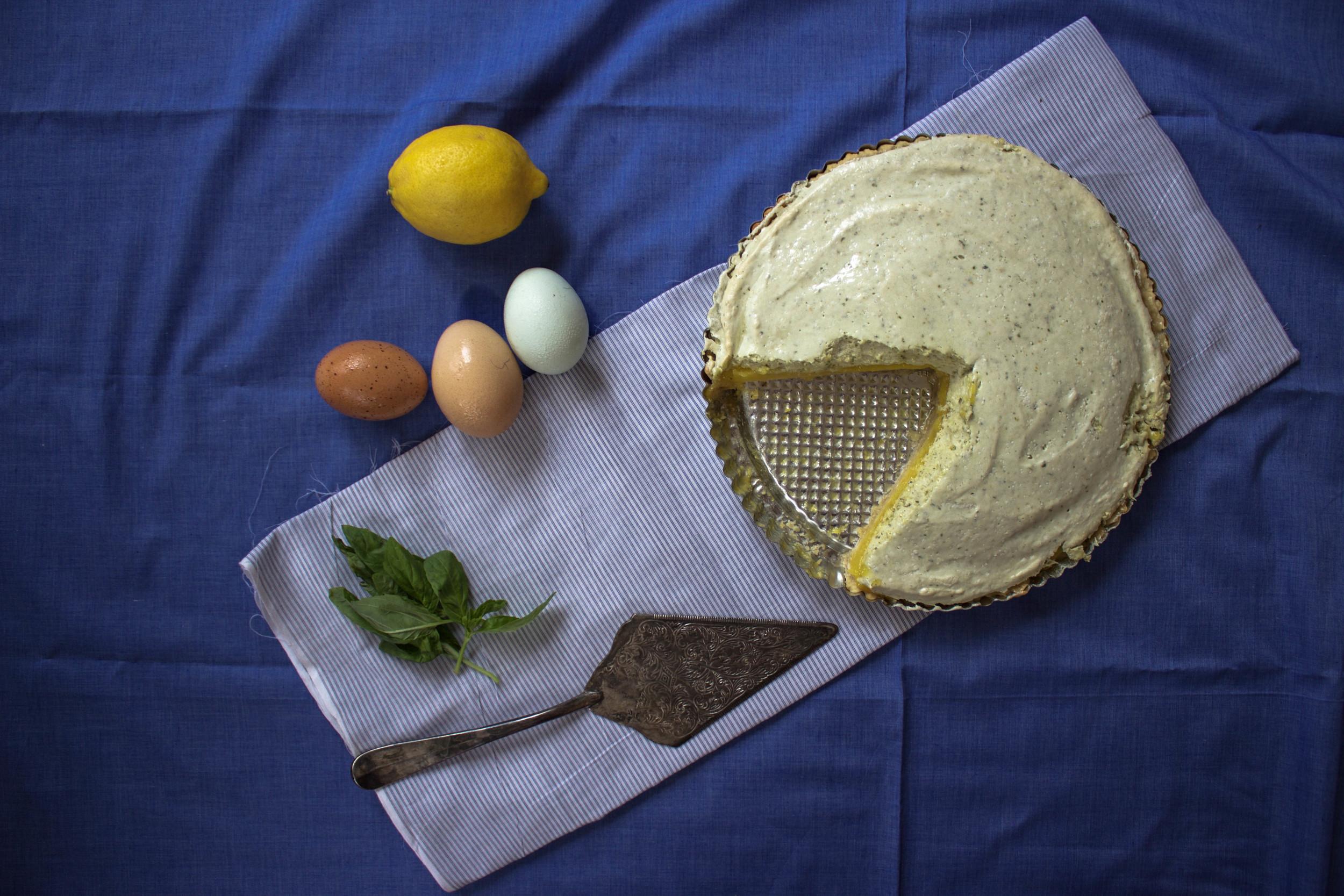 Lemon-Basil Tart