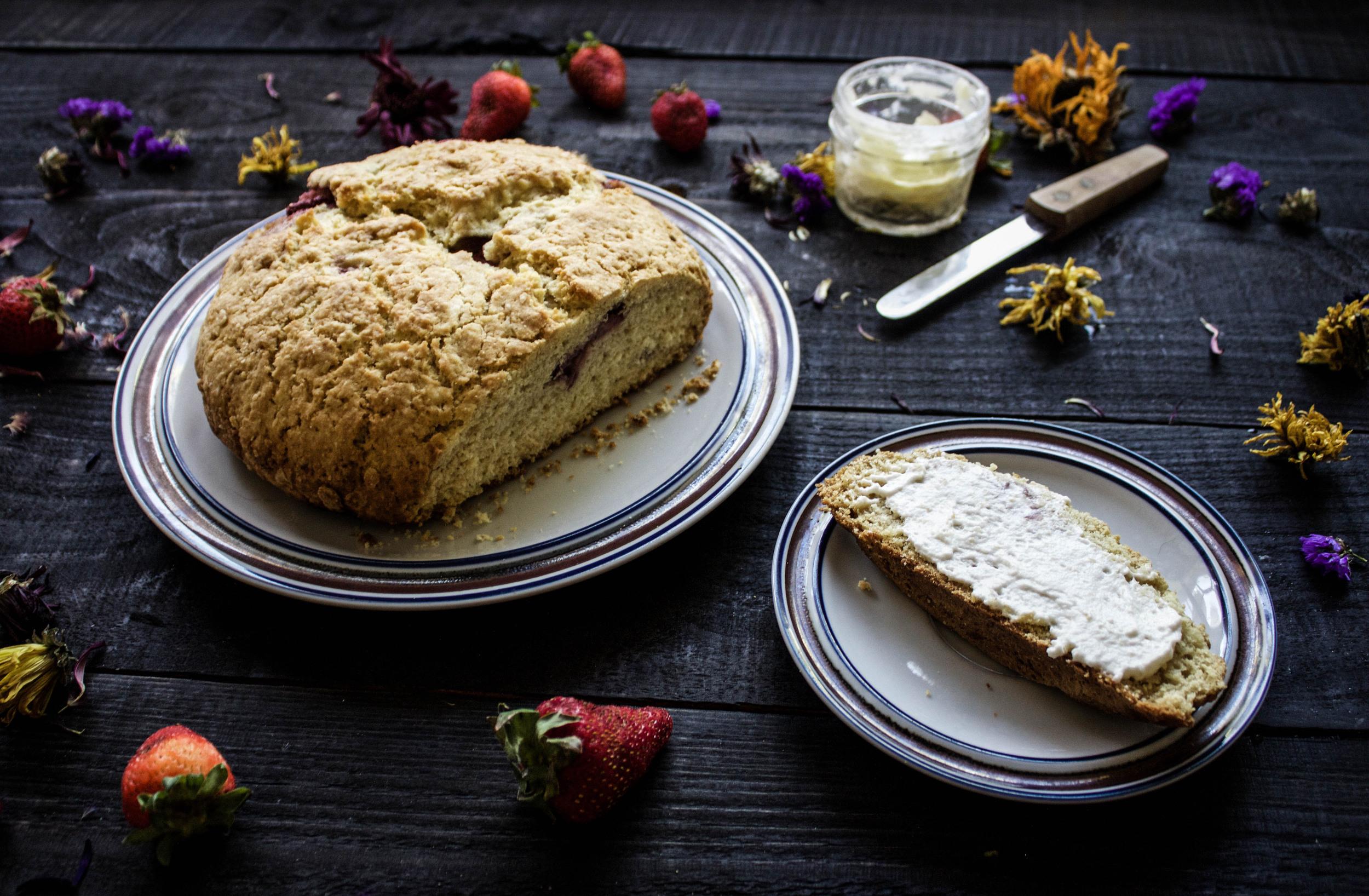 Strawberry Soda Bread