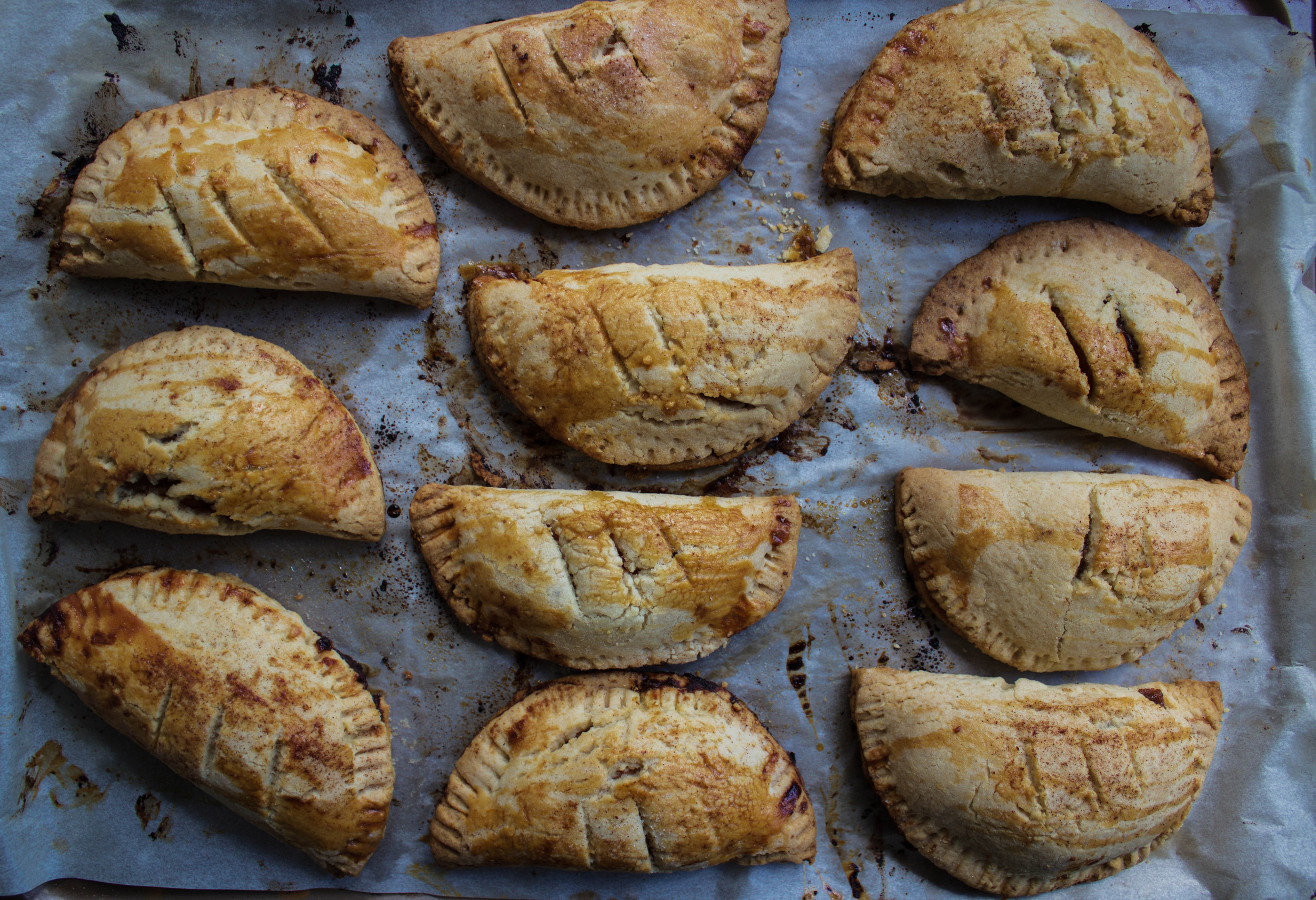 Apple Butter Sweet Potato Handpies