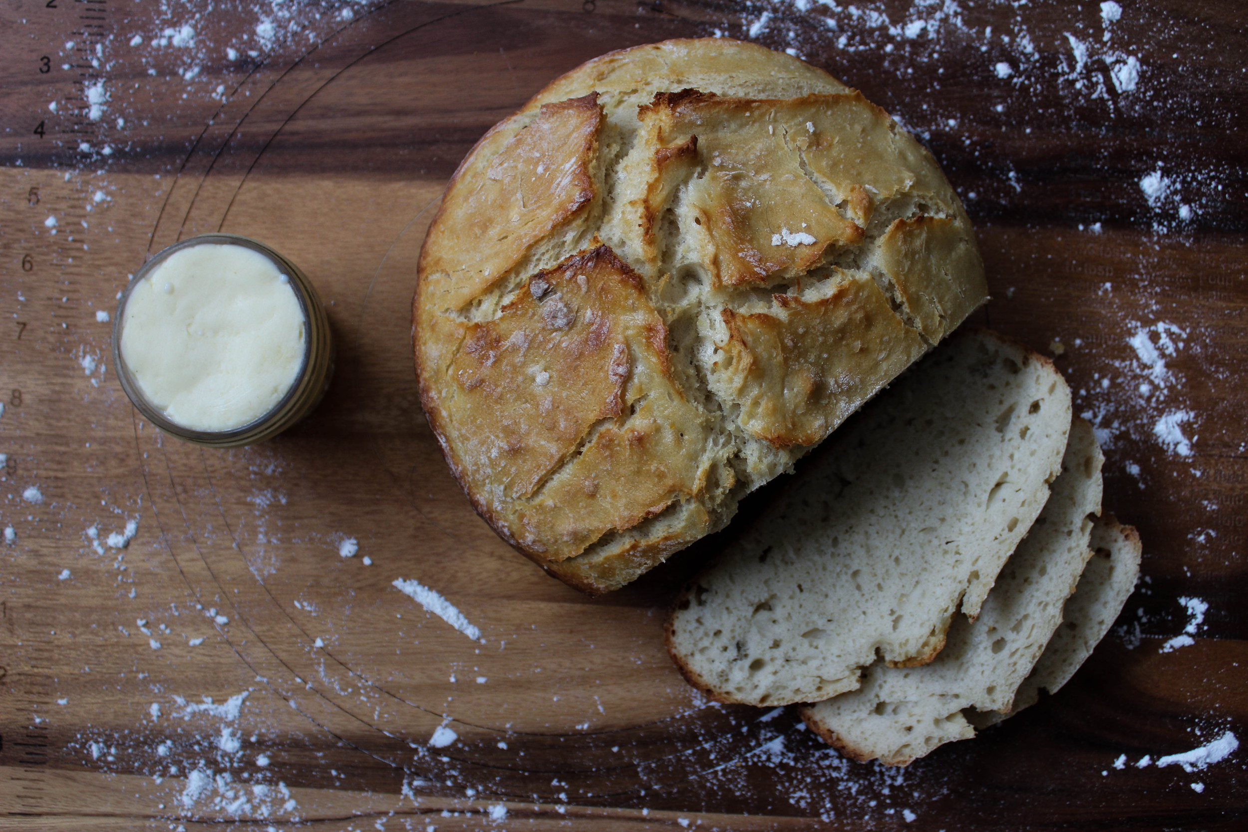 Potato Bread with Cultured Butter