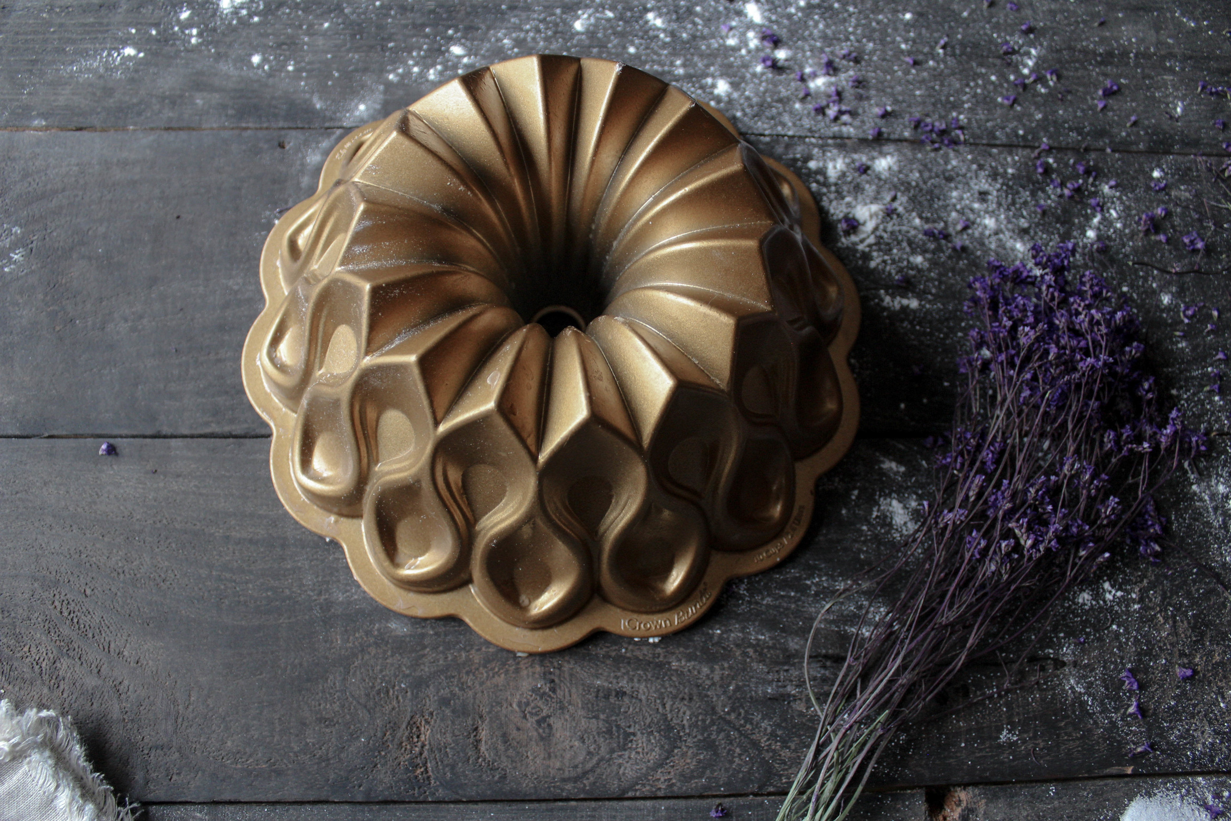 Nordic Ware's 70th Anniversary Crown Bundt Pan