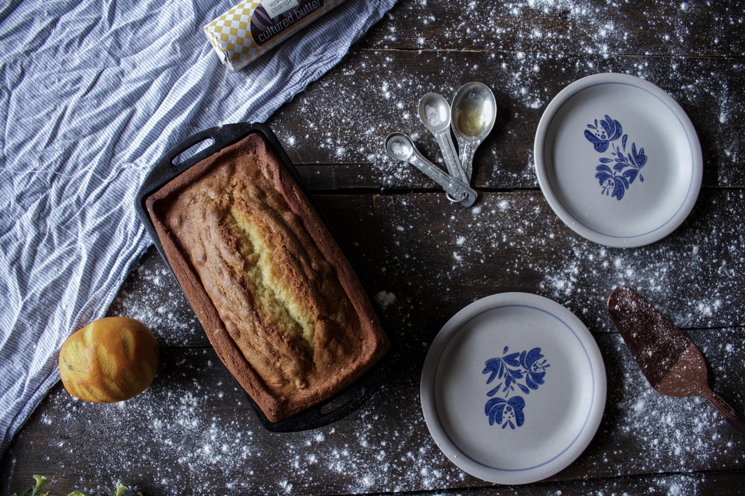 Grand Marnier Poundcake