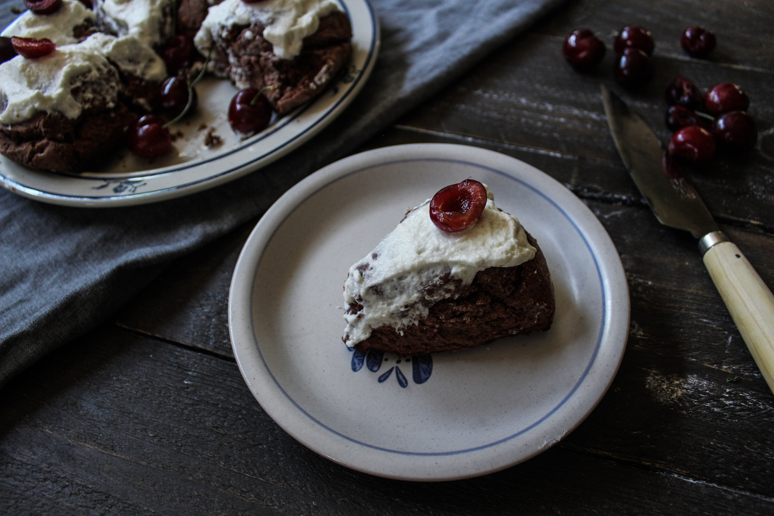 Black Forest Scones