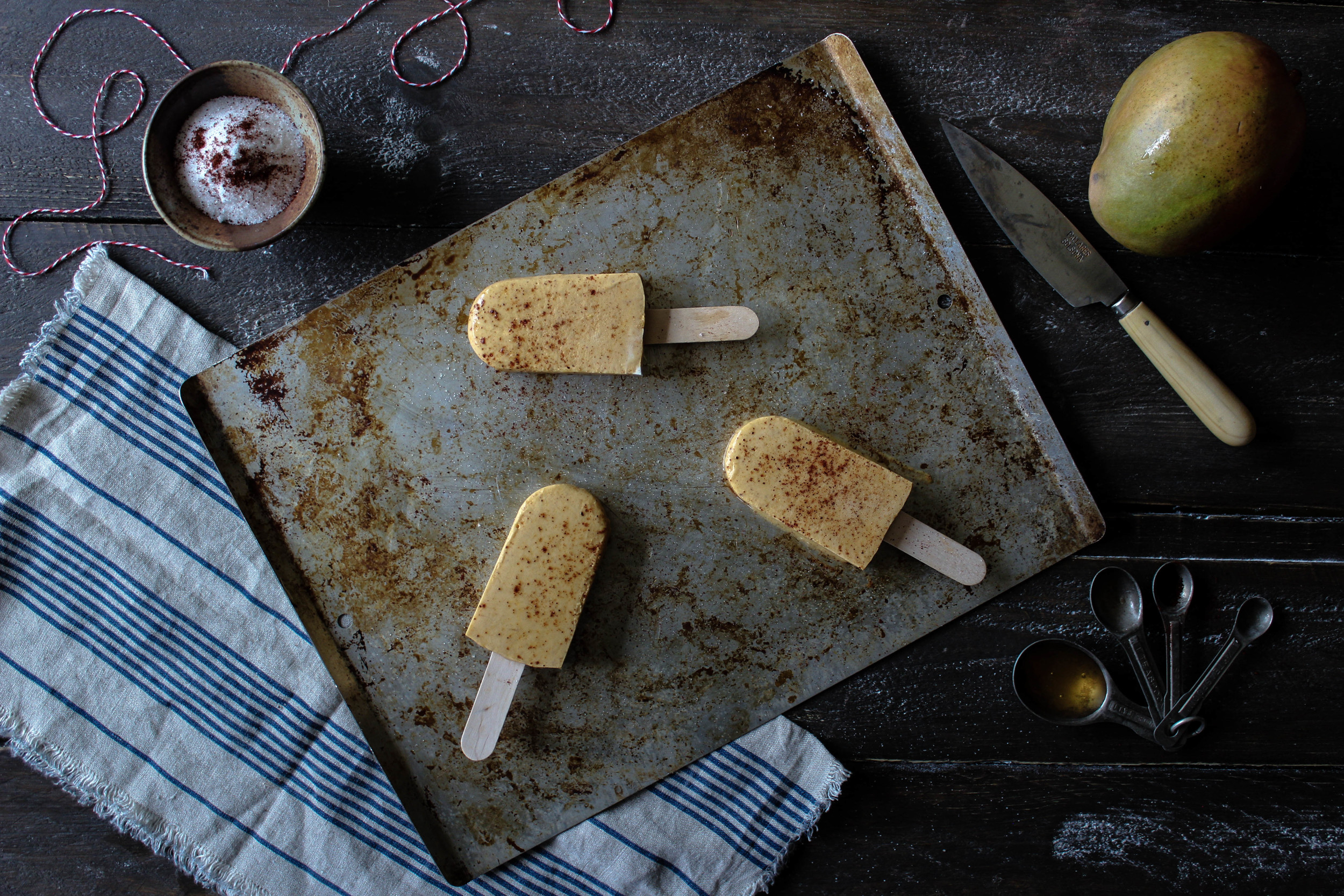 Mango Chili Popsicle for Popsicle Week!