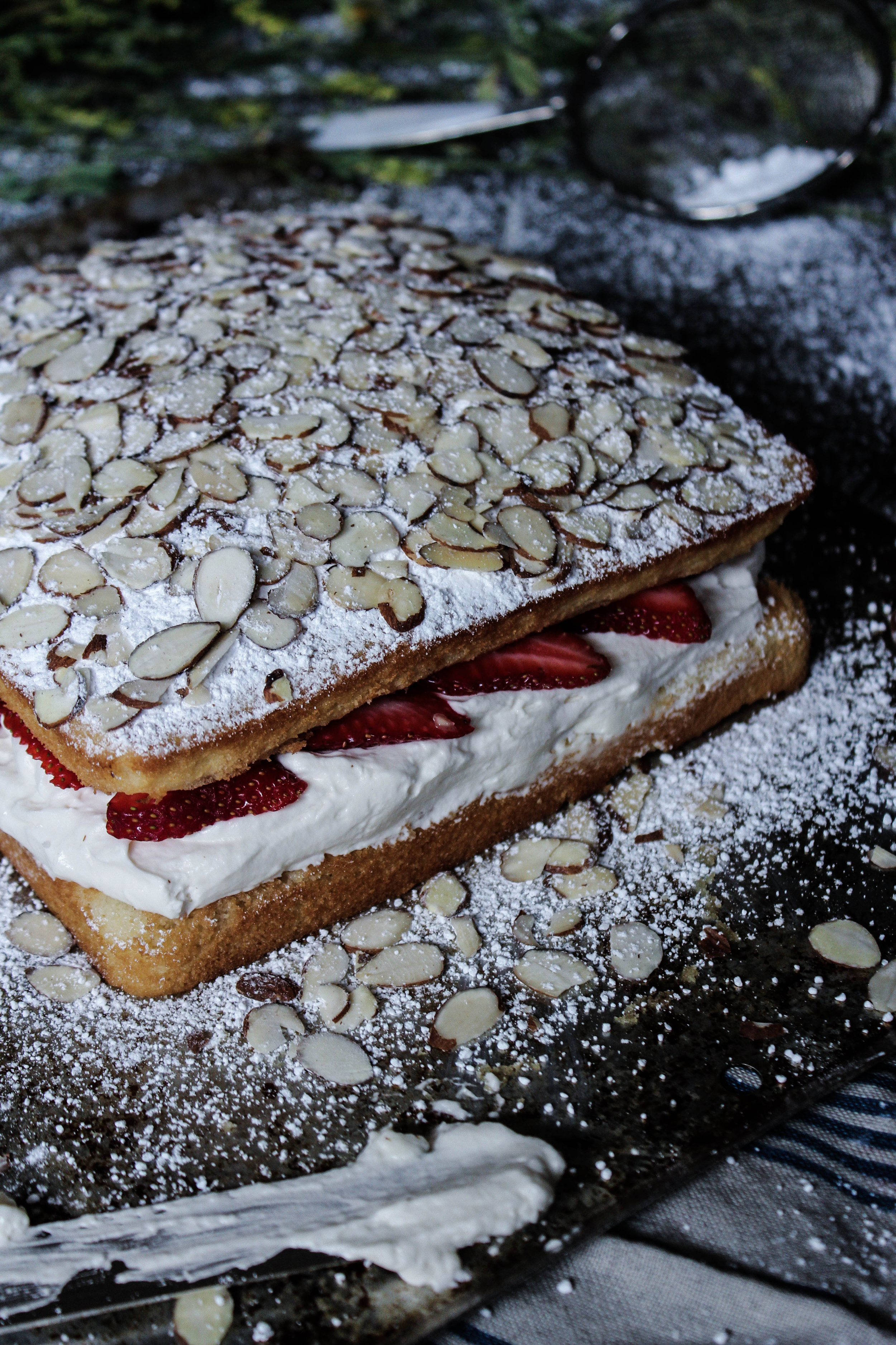 Victoria Sponge Strawberry Shortcake