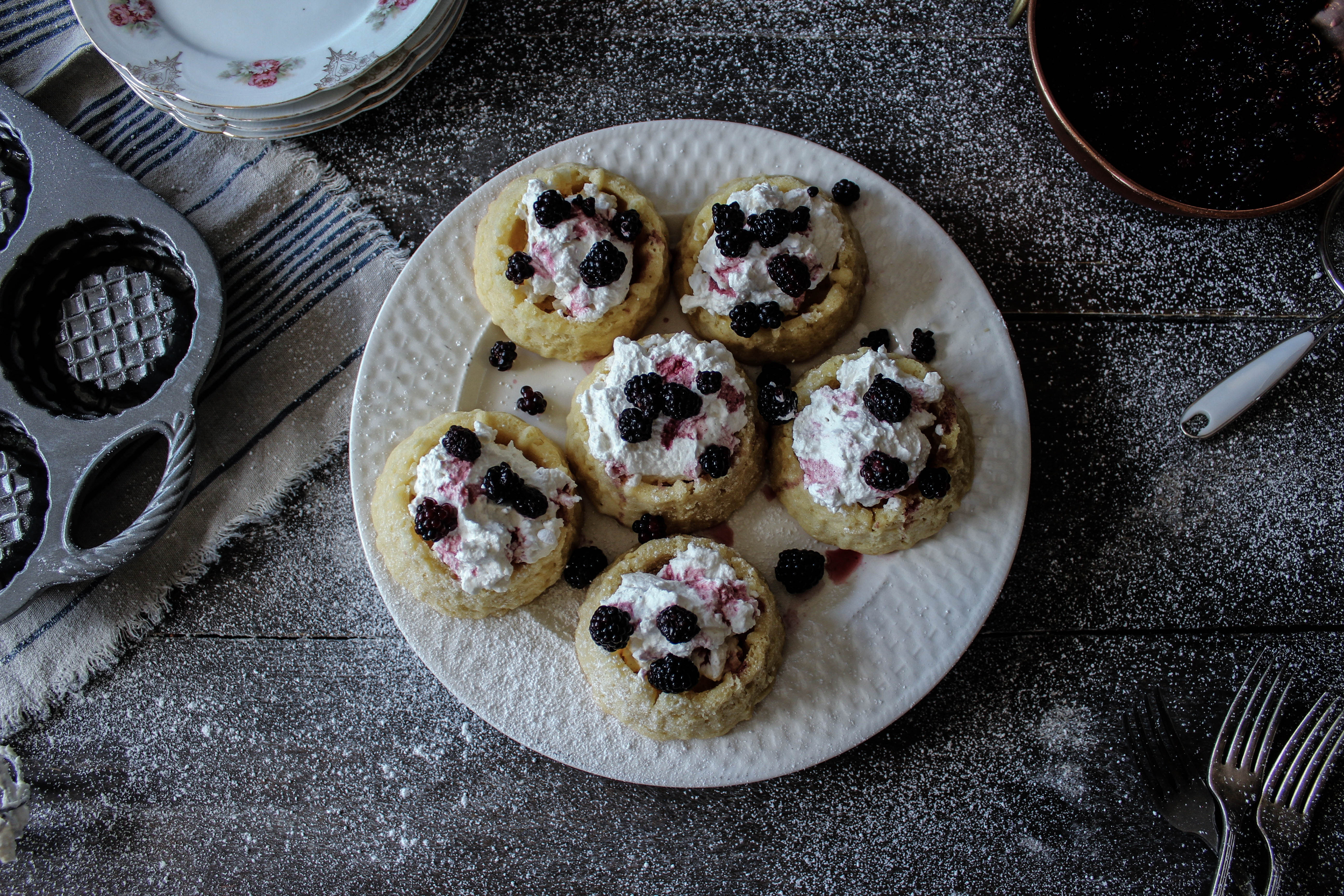 Wild Berry Shortcakes: In Partnership with Nordic Ware