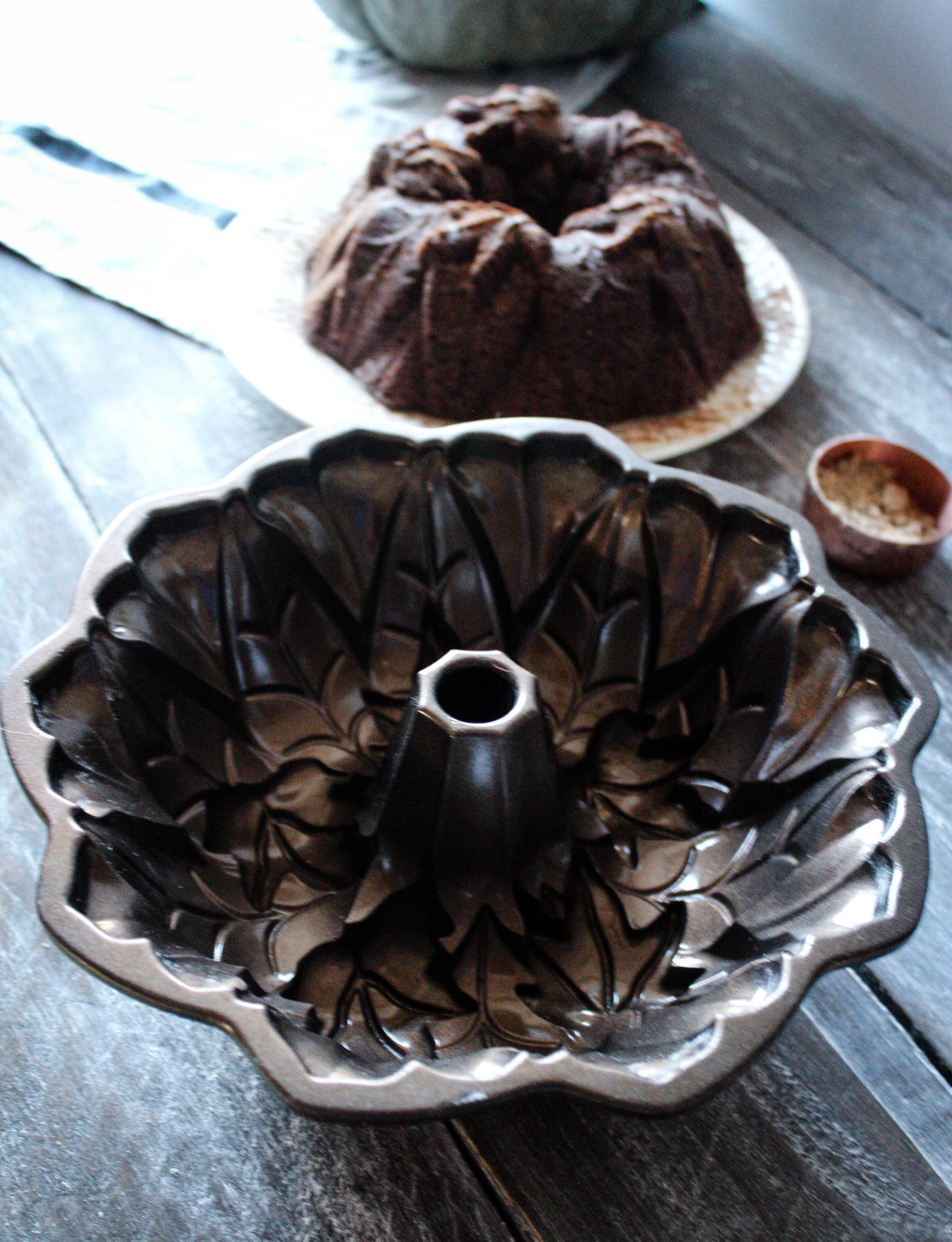 Pumpkin Chocolate Bundt, in partnership with Nordicware
