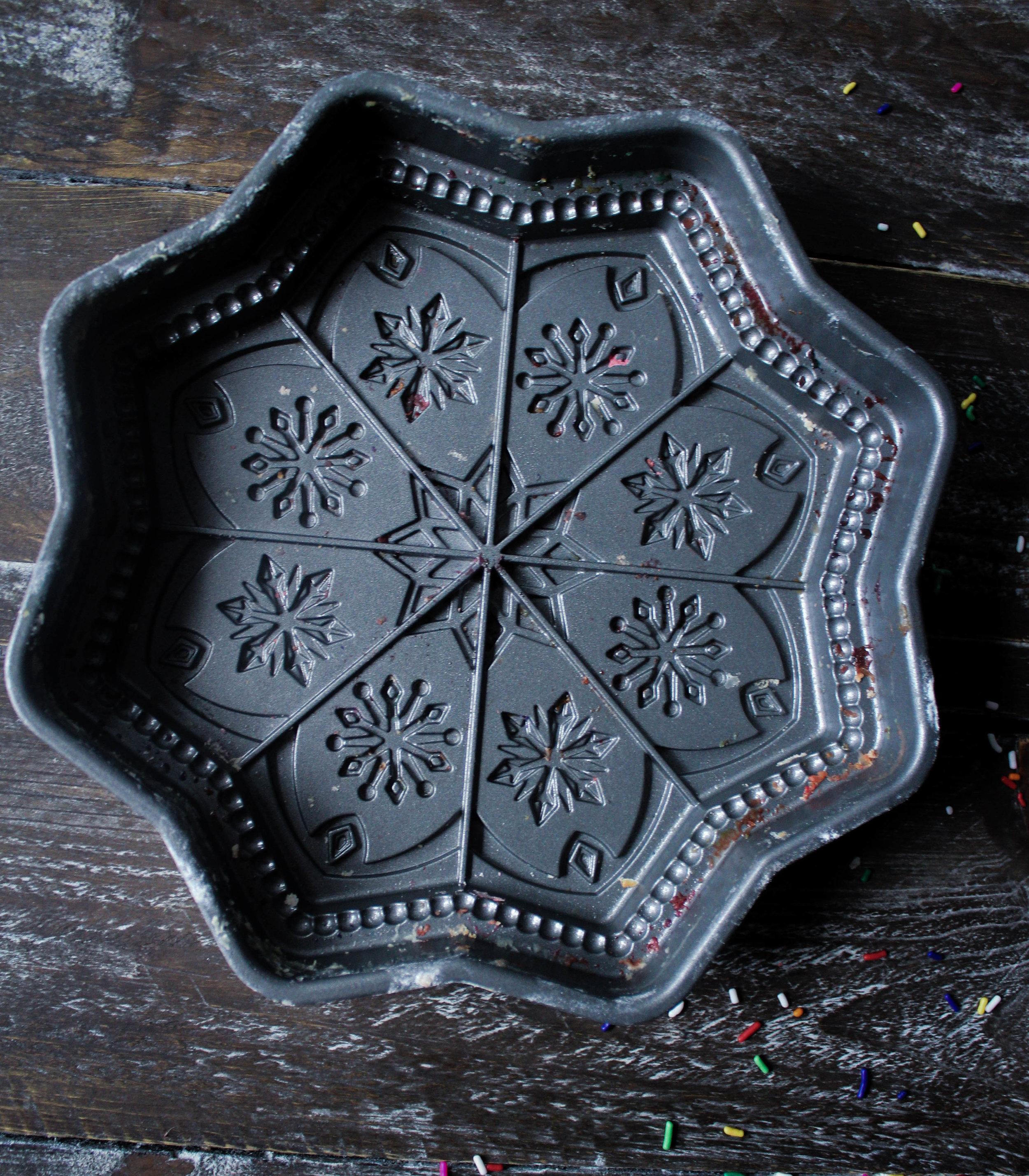 Funfetti Gateau Breton with Nordic Ware