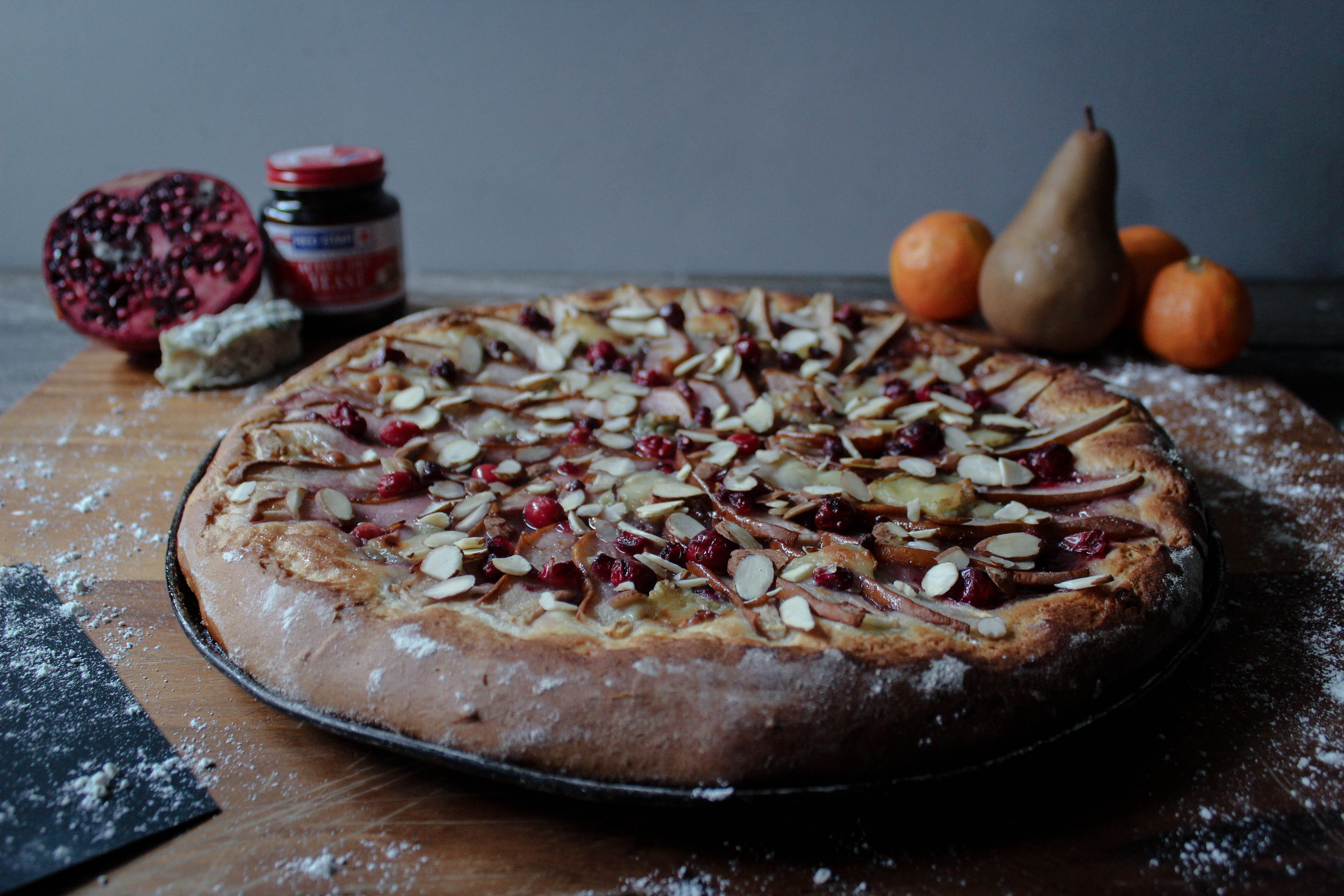 Seasonal Fruit Pizza: In Partnership with Red Star Yeast