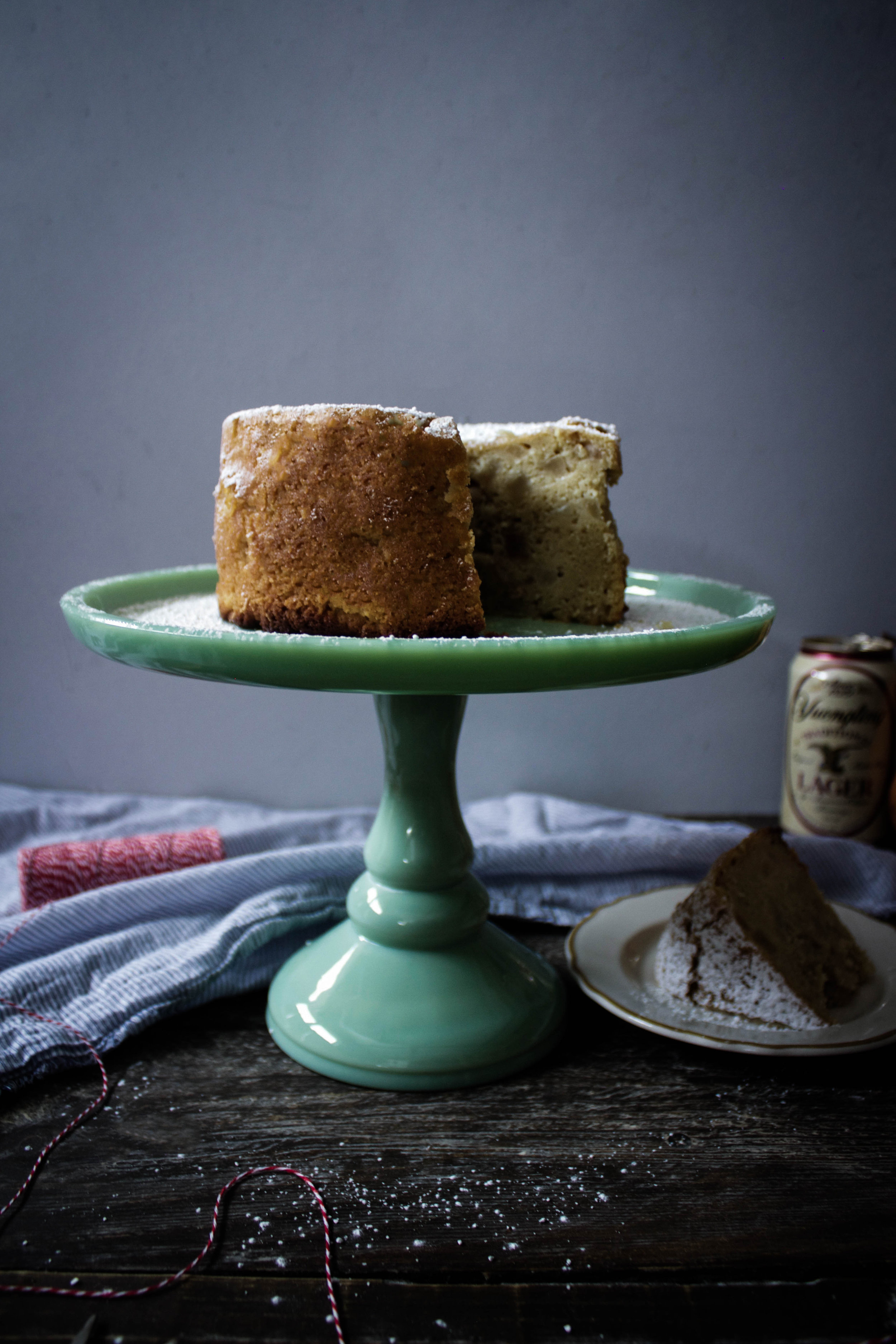 Pear and Beer Cake