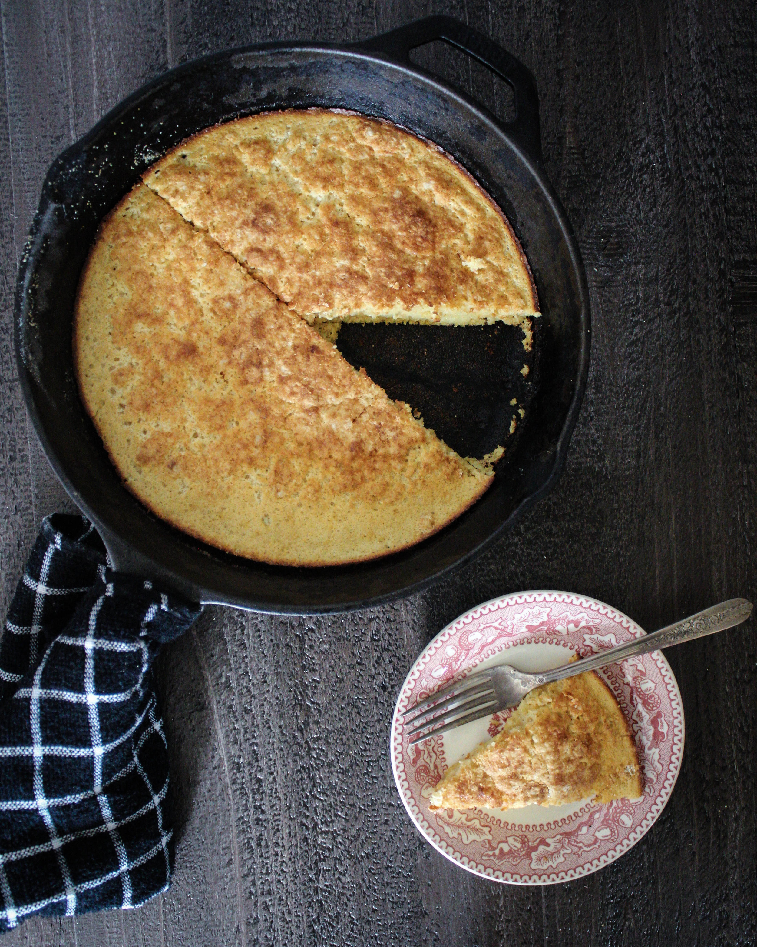 "Toasted Cornmeal ""Dutch Pancake"""