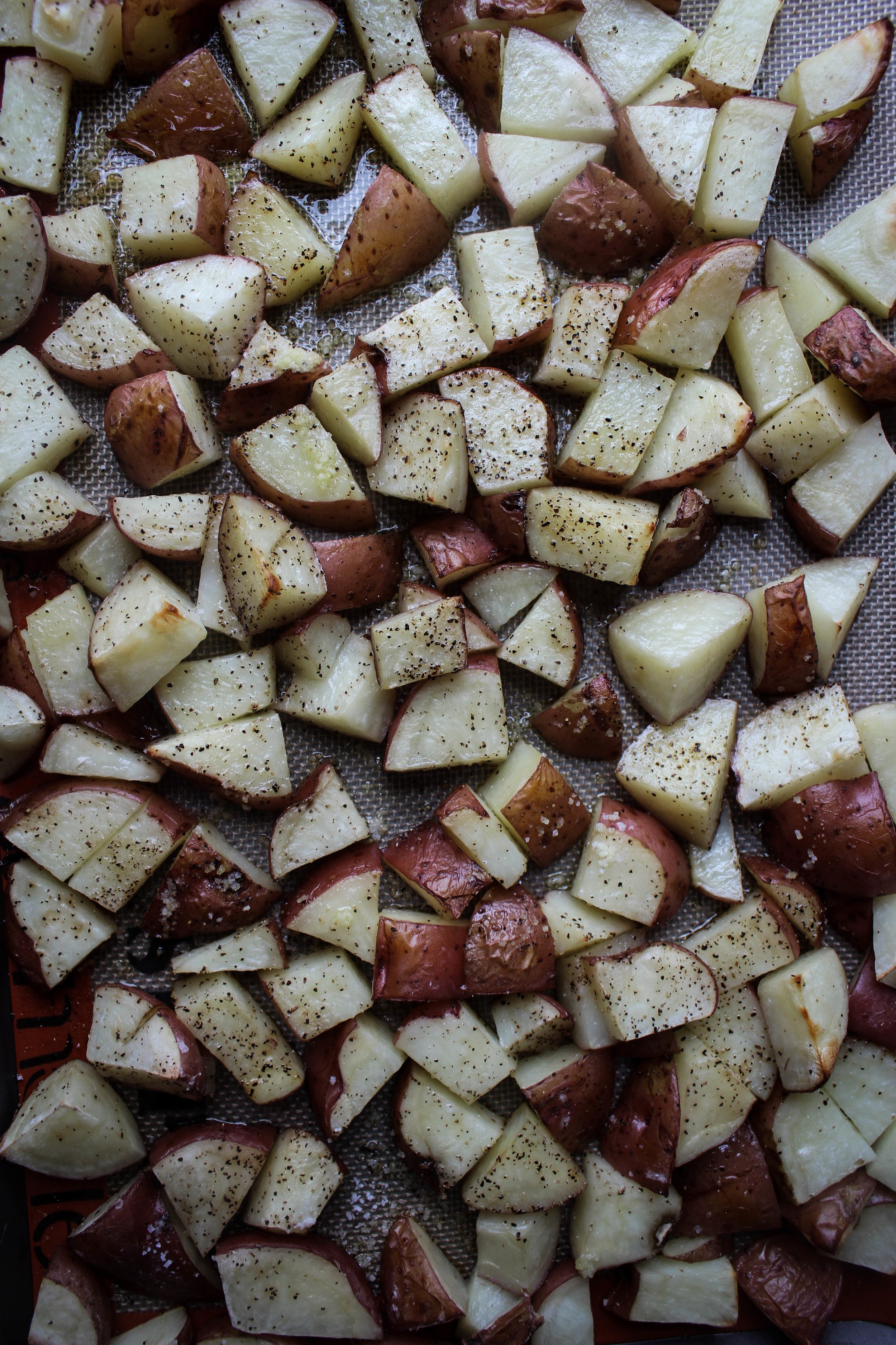 Roasted Dill Potato Salad