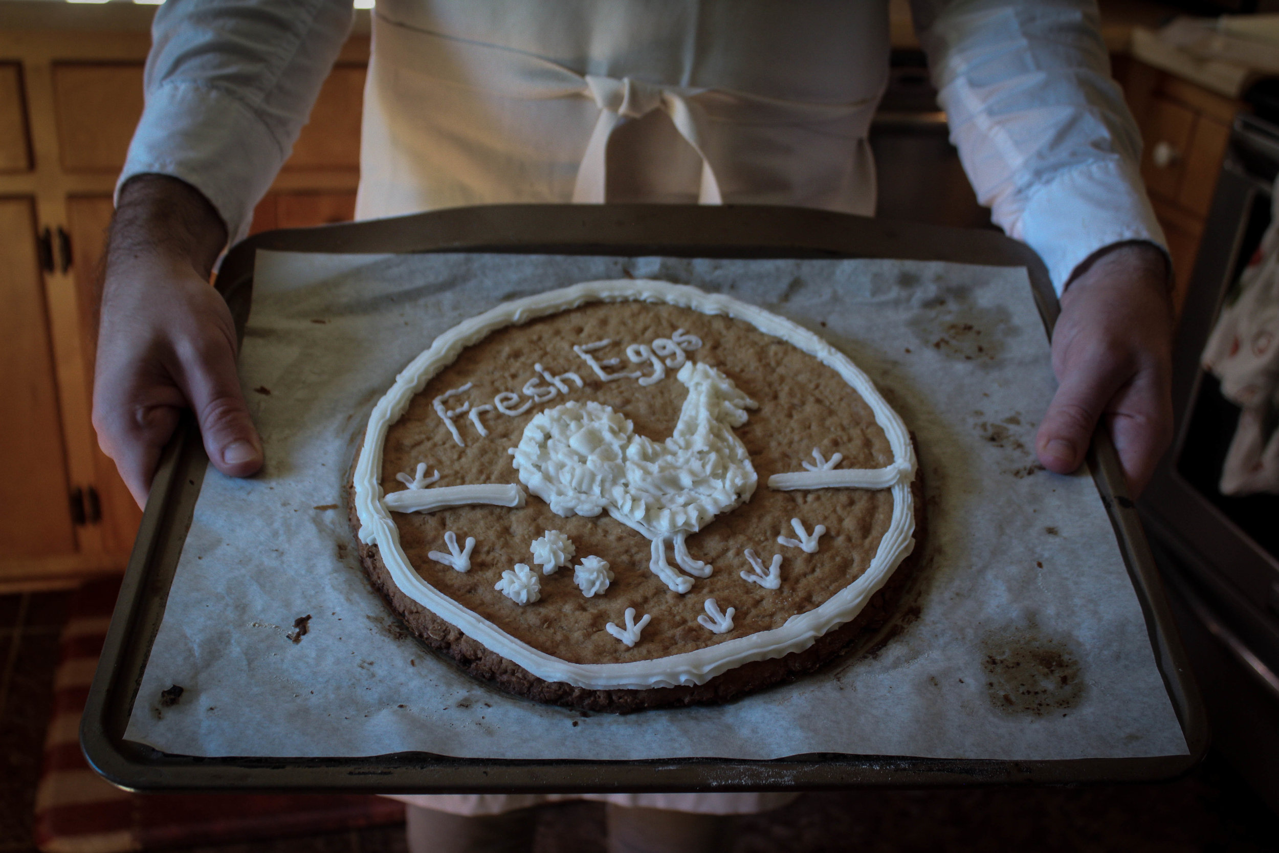 Oatmeal Cookie Galette