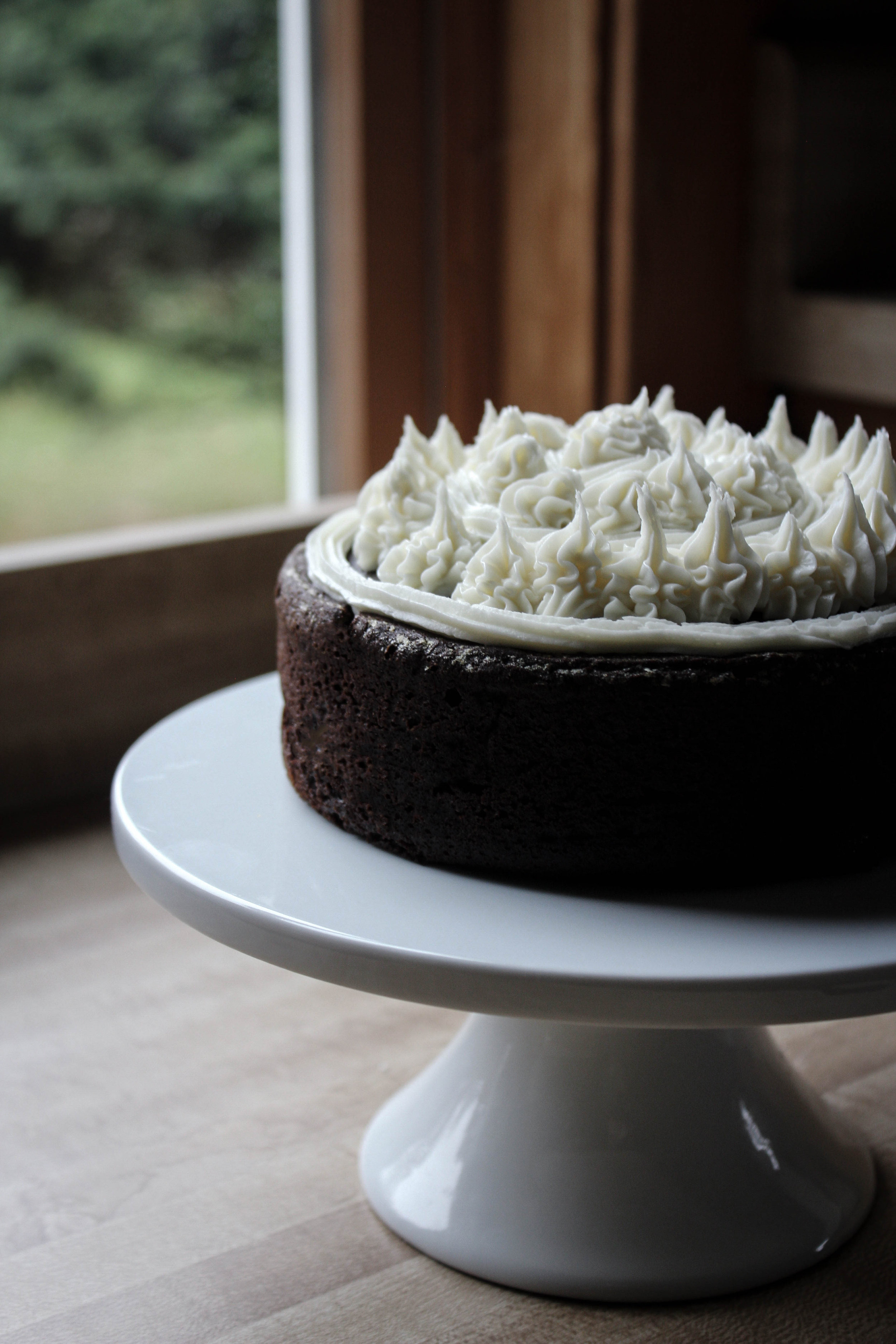 Pumpkin Brownie Mini Cake