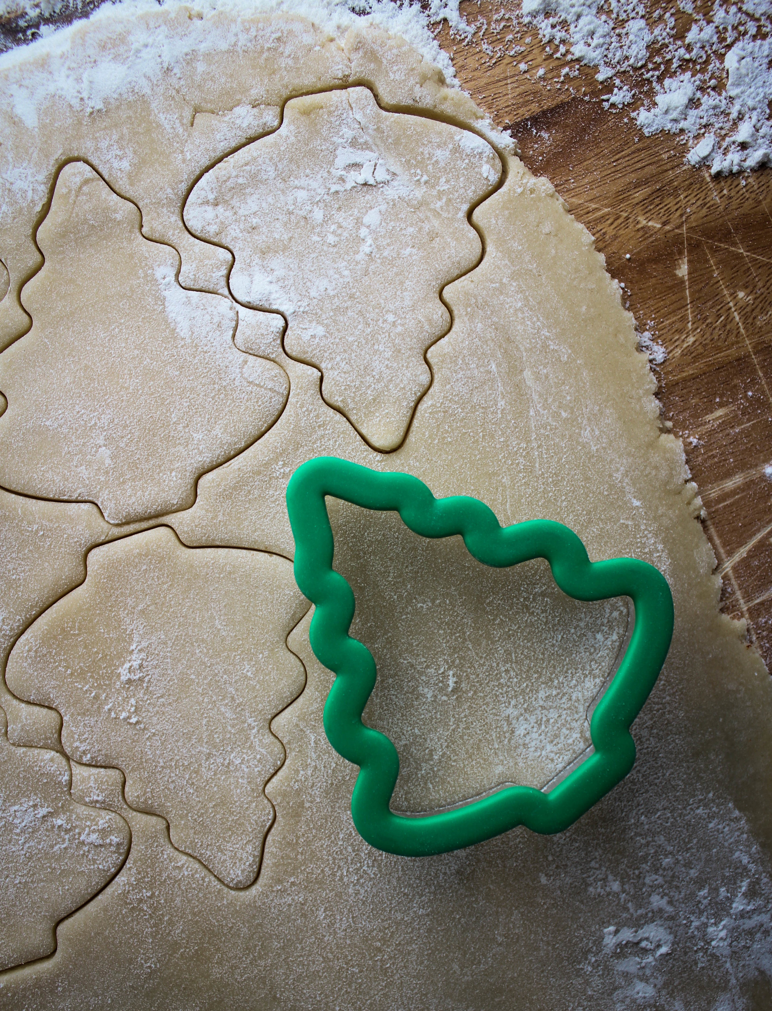 Modern Farmer - Christmas Tree Cookies