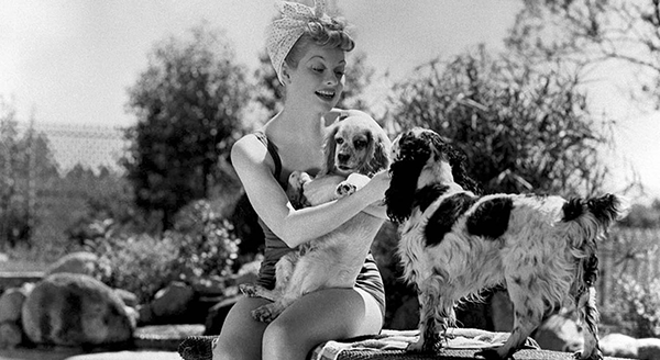 Summer's just around the corner, but will any of us ever be as beautiful as Lucille Ball or her dogs?