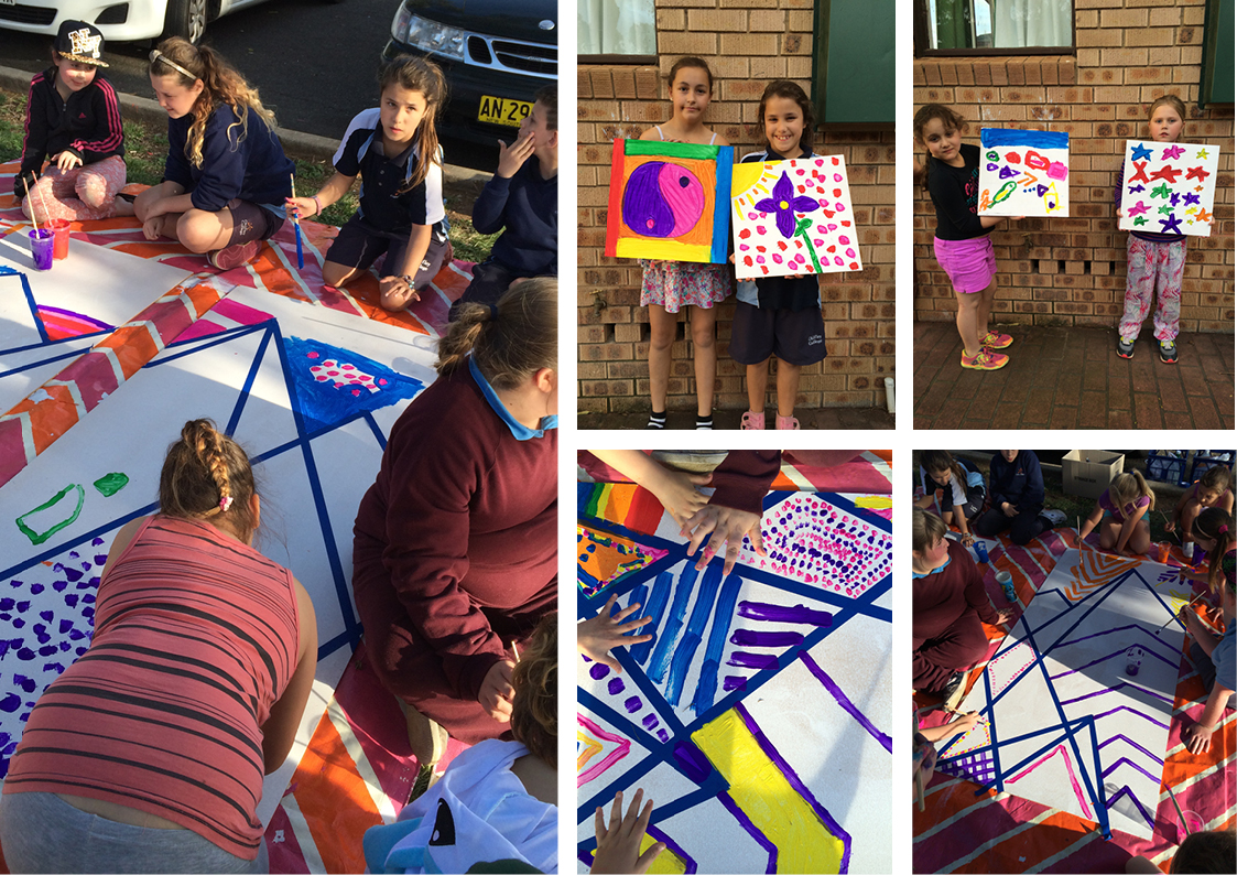 Image #2 Workshops with Bidwill Uniting Church as part of Bidwill Festival 2014 Art Making & Mural