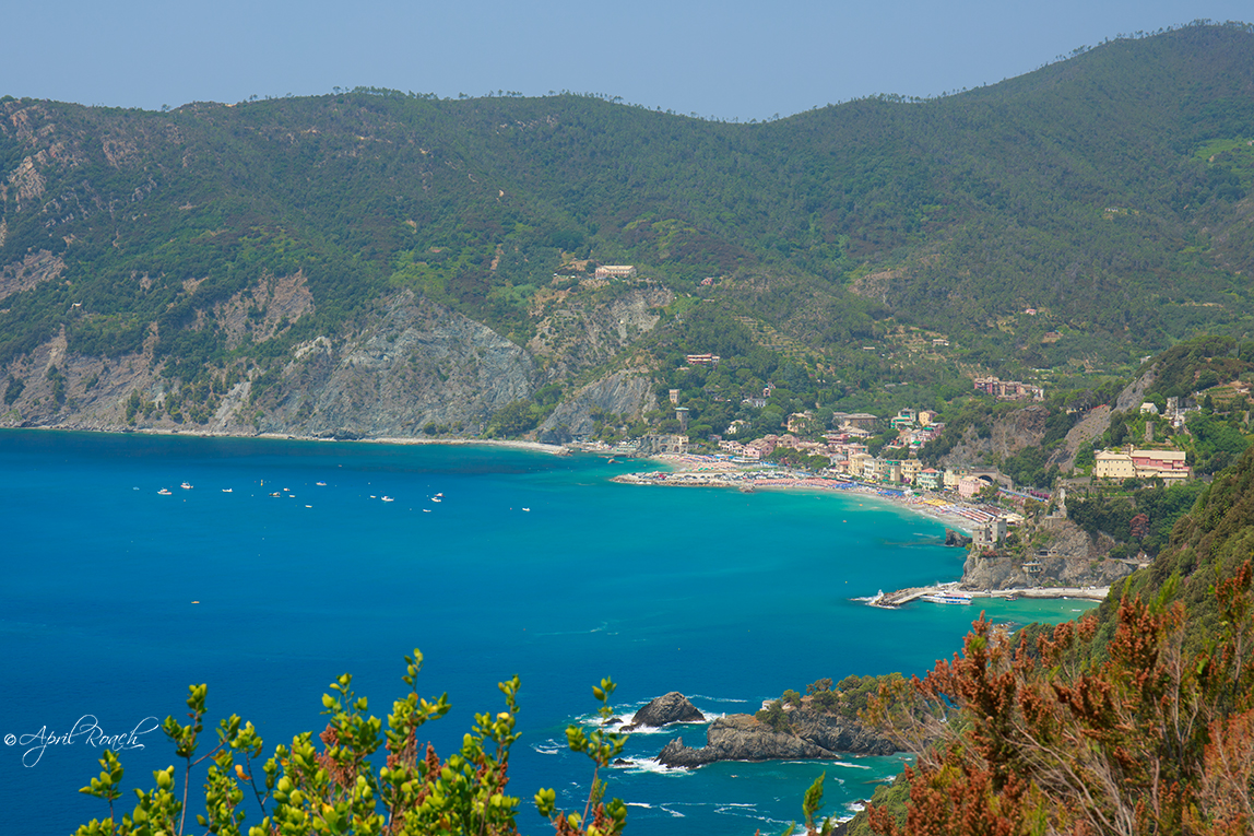 The hike toward Monterosso