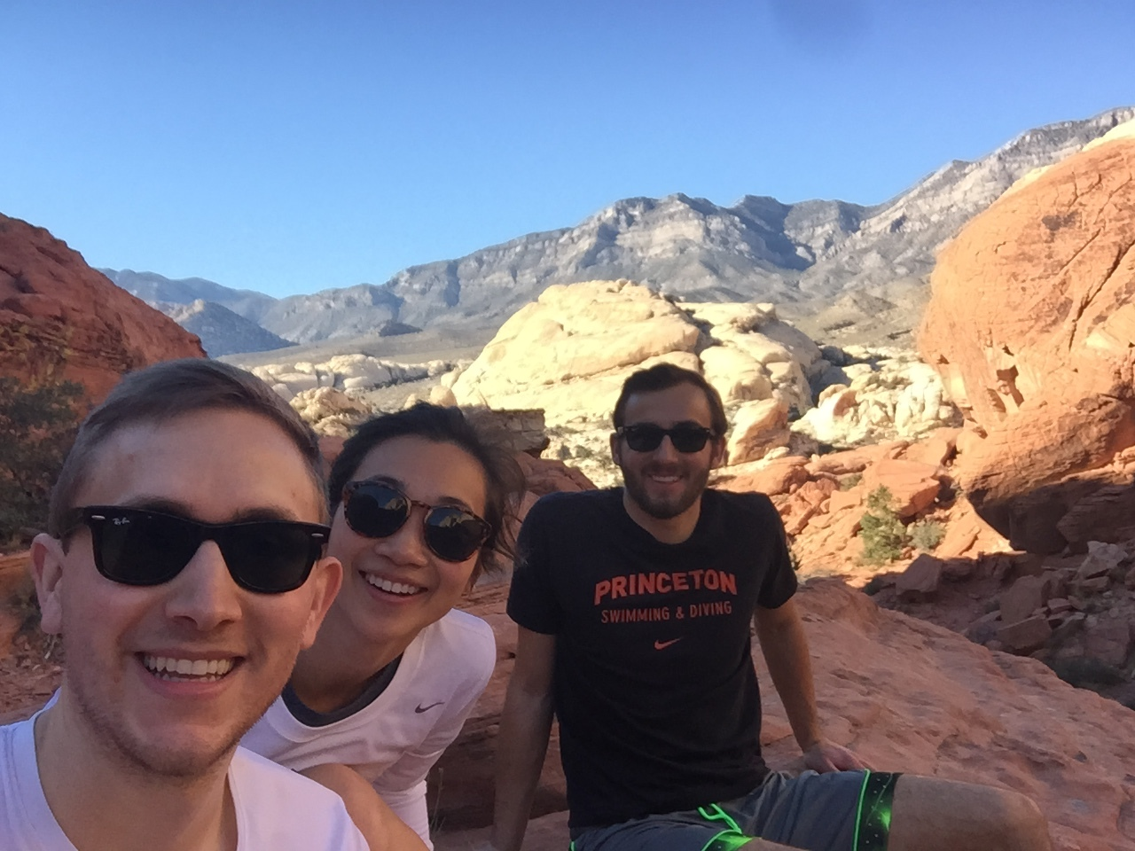 Outside Vegas at Red Rock Canyon