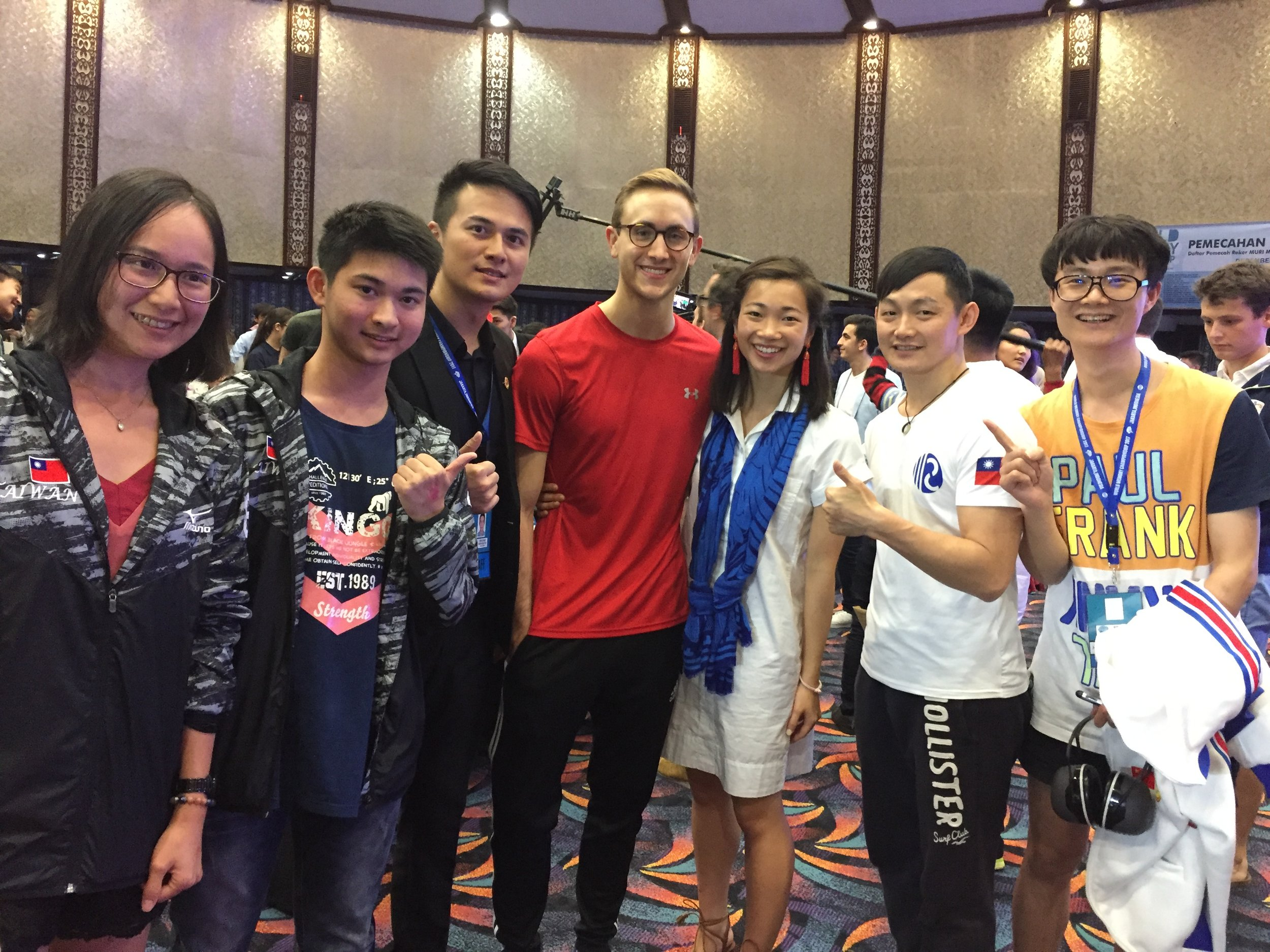 With the Taiwan Memory Team