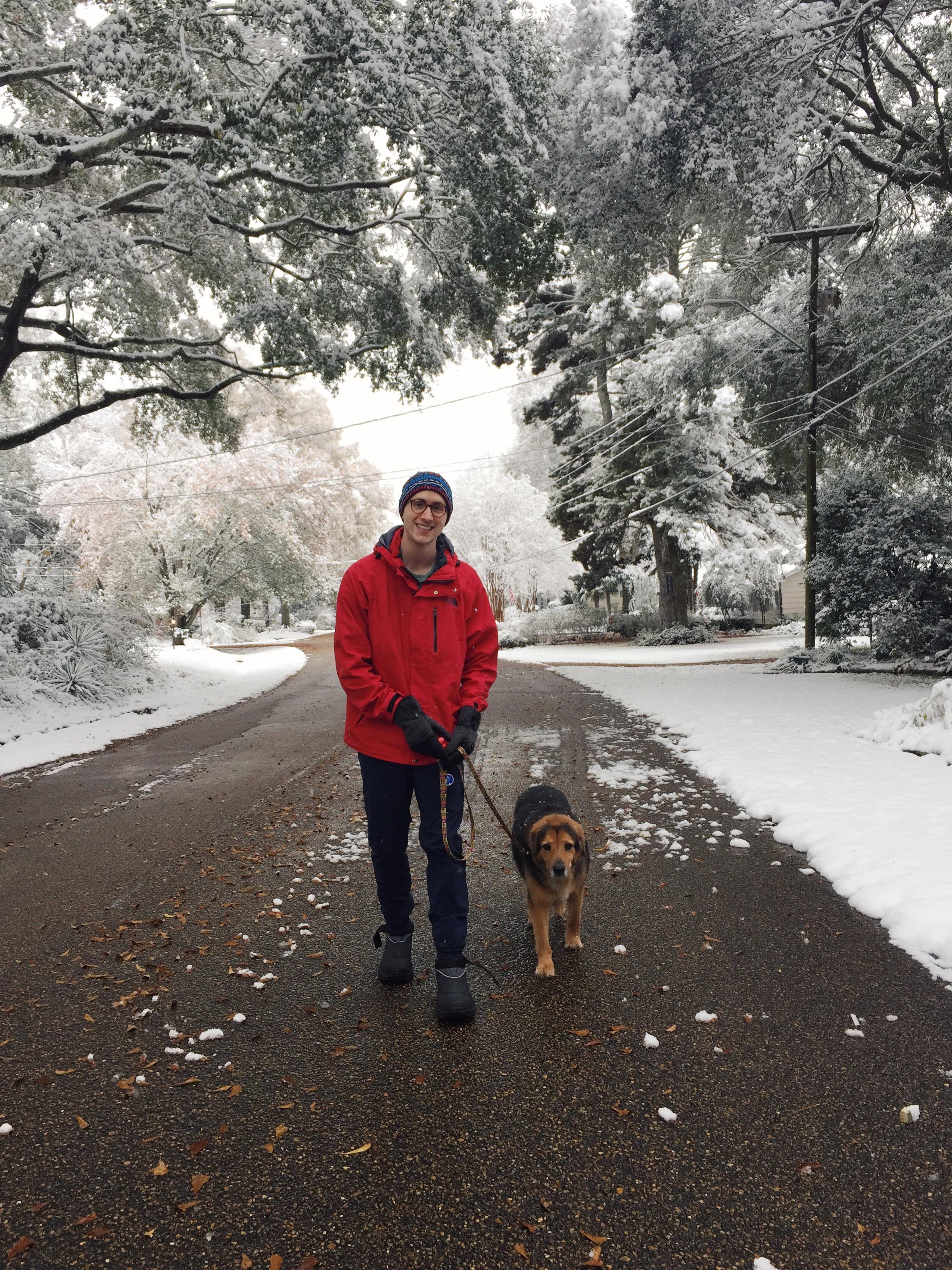 alex mullen walking dog