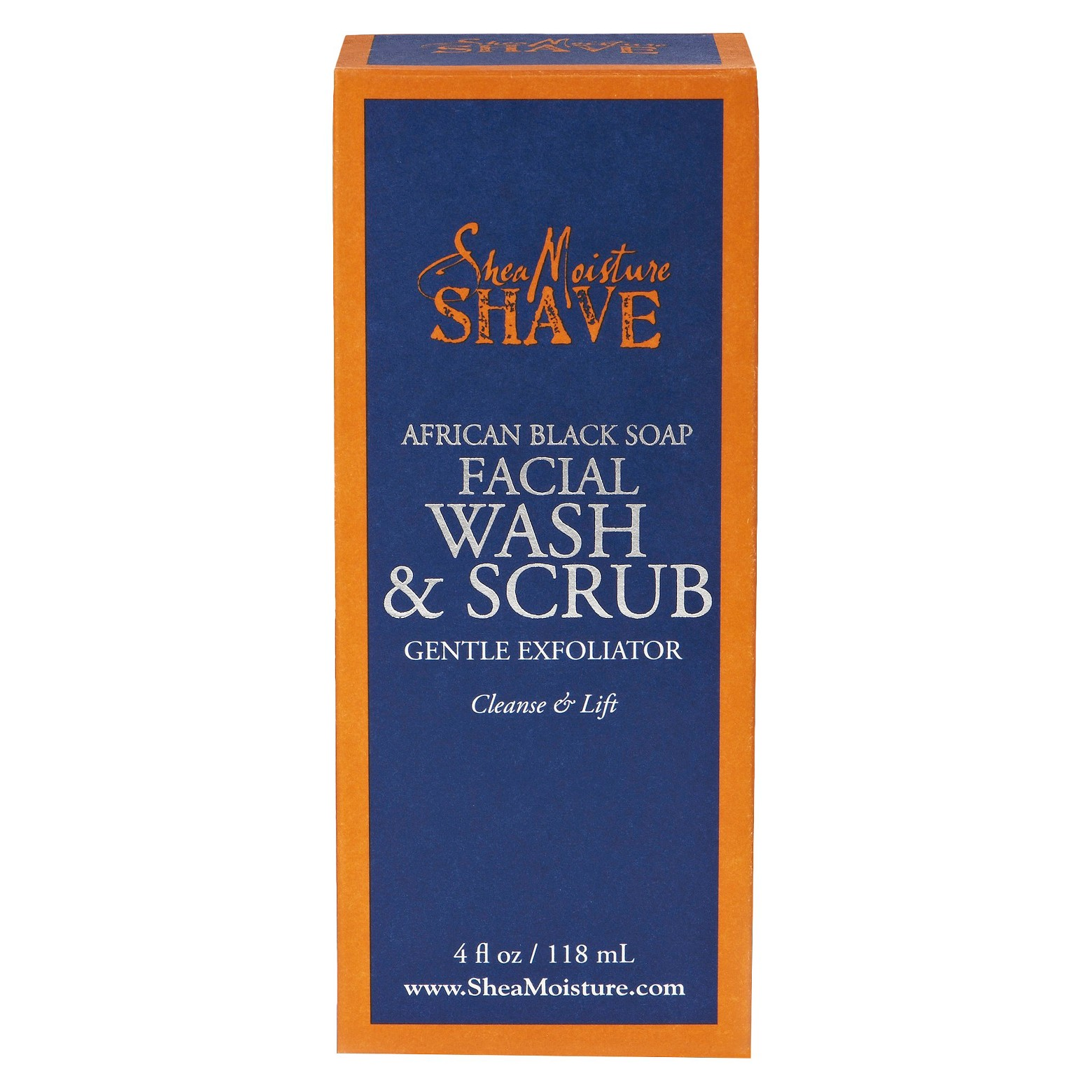 Shea Moisture Facial Wash & Scrub