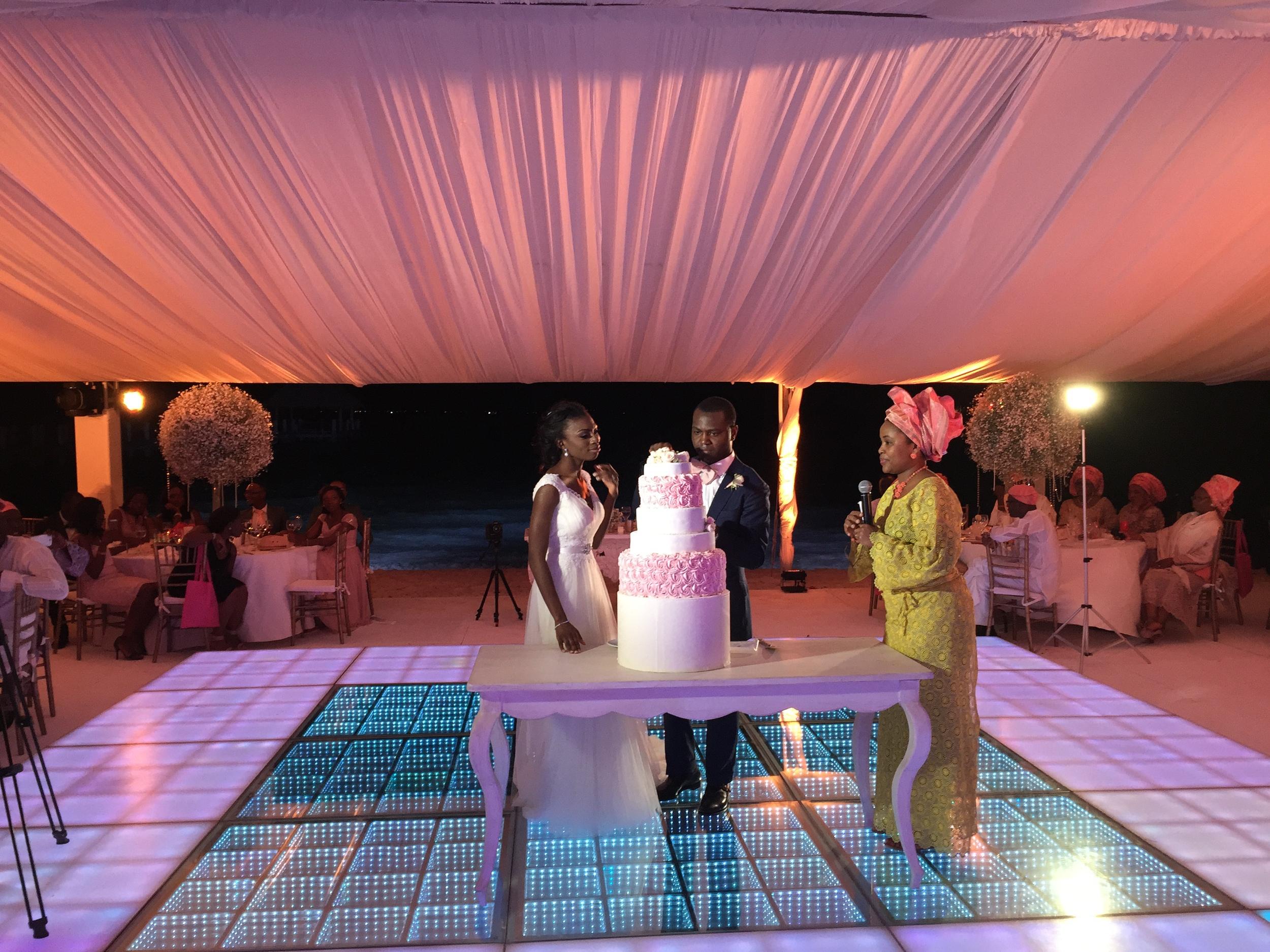 Nigerian Wedding DJ at a destination wedding in Cancun, Mexico. #yd14 December 2014