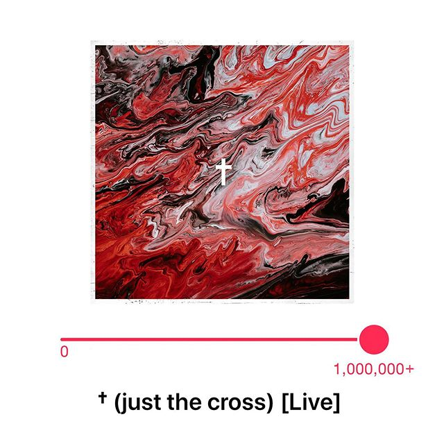 We couldn't be more thrilled with the impact & reach of our title track & single † (Just The Cross). It's release week of our debut album and we just passed 1 million streams on @applemusic & @spotify 😭❤️