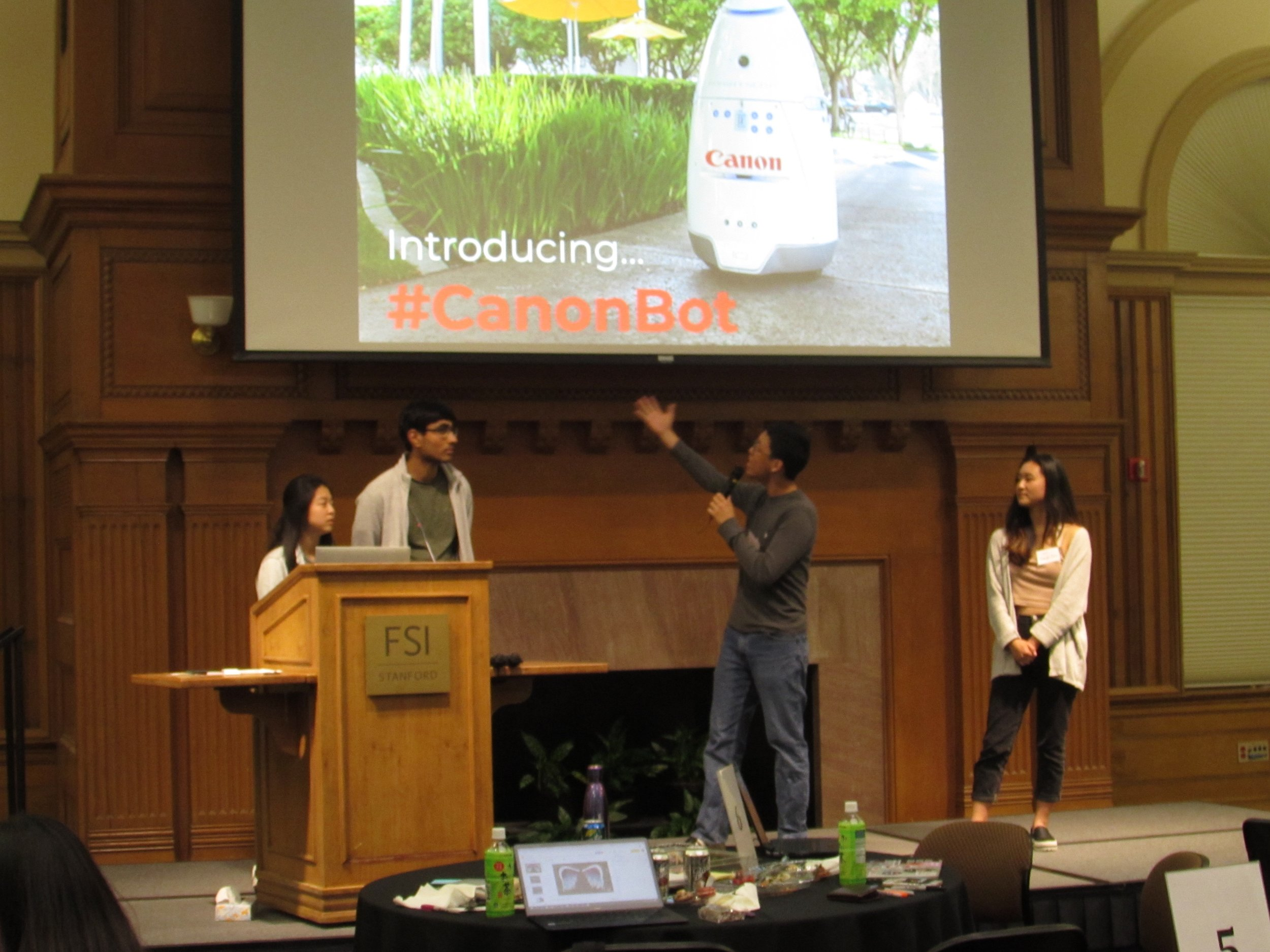 Canon Ideathon 2019 — Stanford Silicon Valley - New Japan