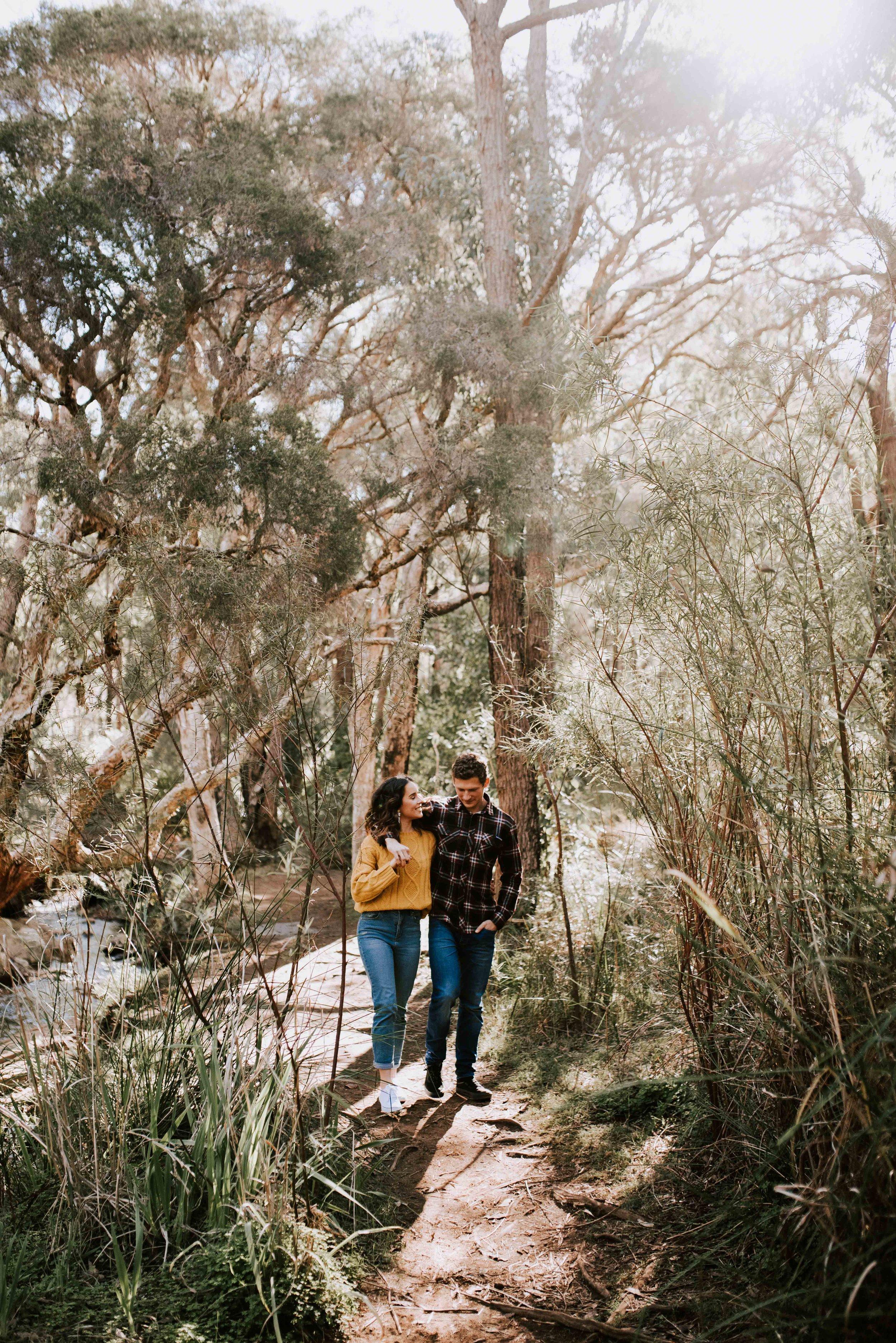 Lesmurdie Falls Engagement Session Perth-4.jpg