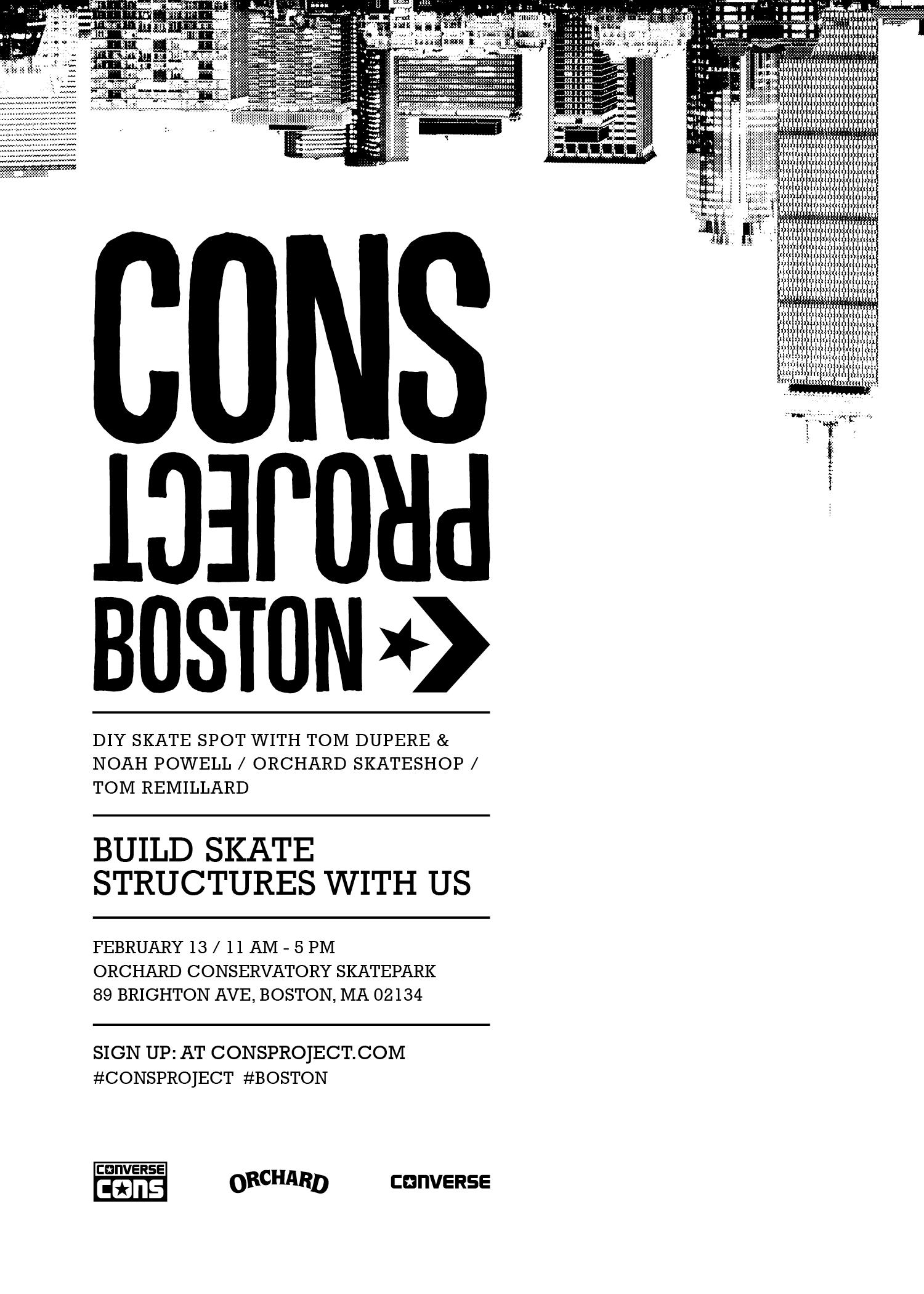 CONS Project Boston Invitation