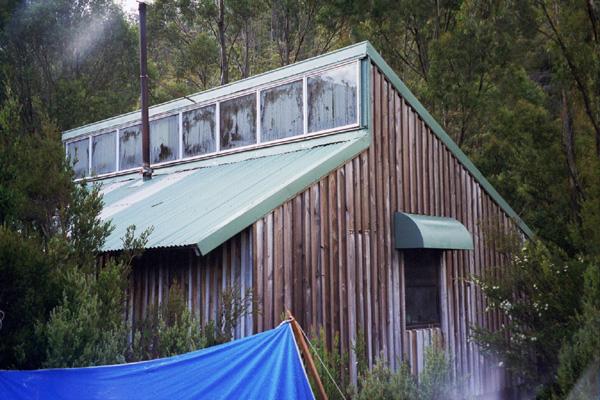 Lake Vera Hut. ©. David Sisson, 2004.