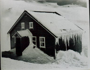 Kunama Hutte 1953 - 1956.