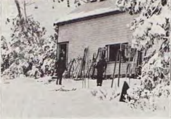 The SCV cabin depicted in the Australian and New Zealand Ski Year Book 1936.
