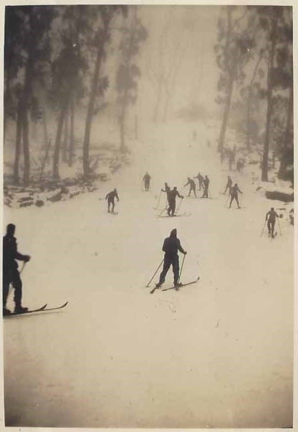The Main Run circa 1931 or earlier. From the authors collection, photographer unknown.