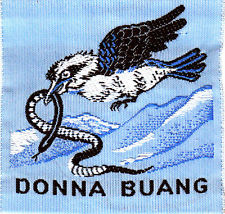Apparently the badge of the Donna Buang Rover 'crew'.