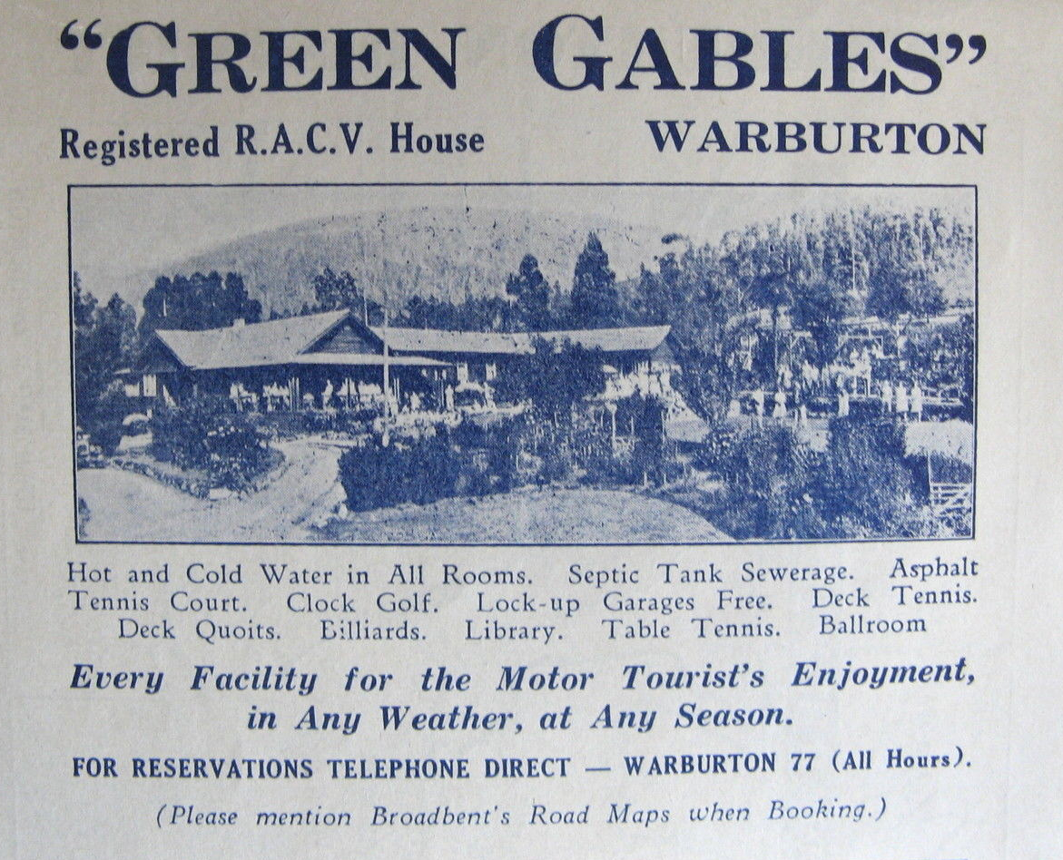 Green Gables was popular with SCV members before the club built a cabin on Donna