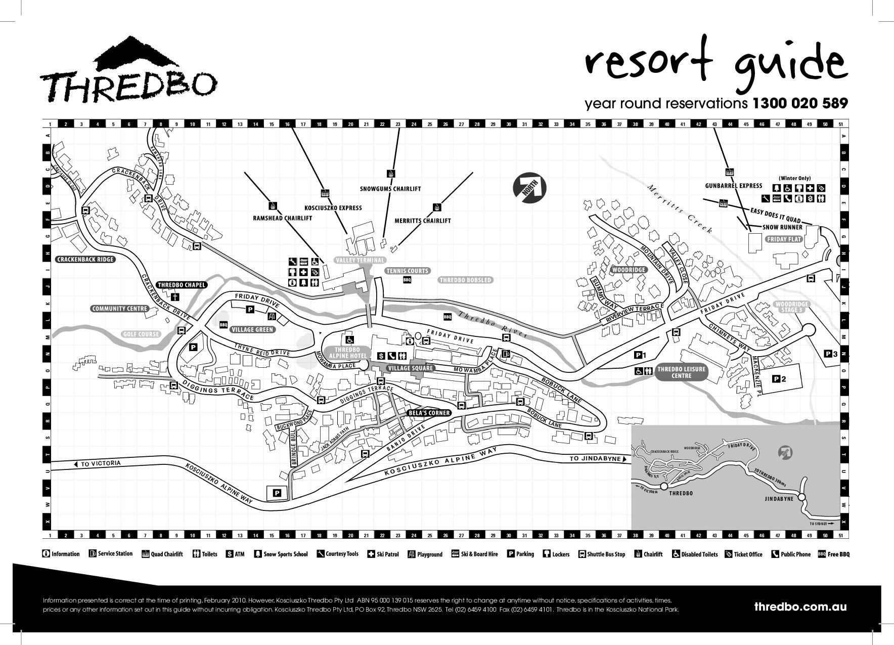 2011  circa. Town map
