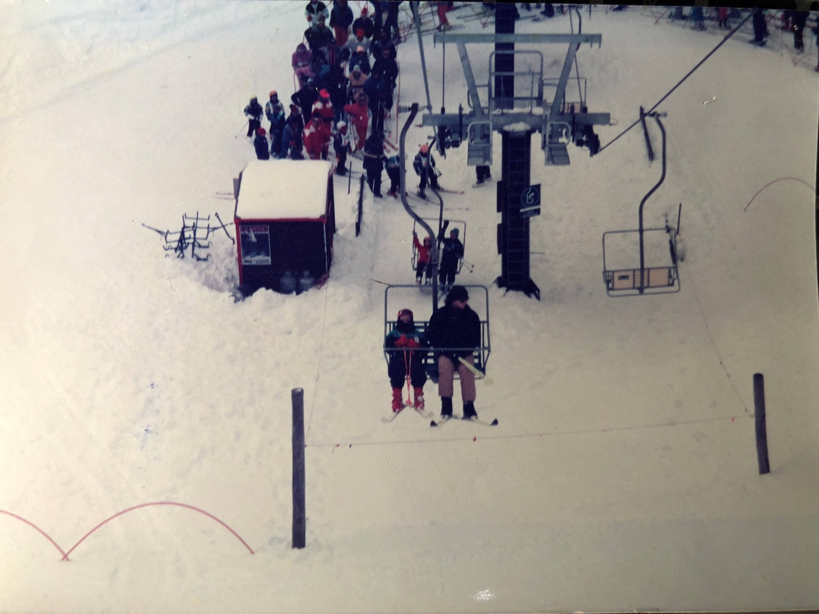 Base of Playground chairlift in 1990. Photo © 'Timmossy'