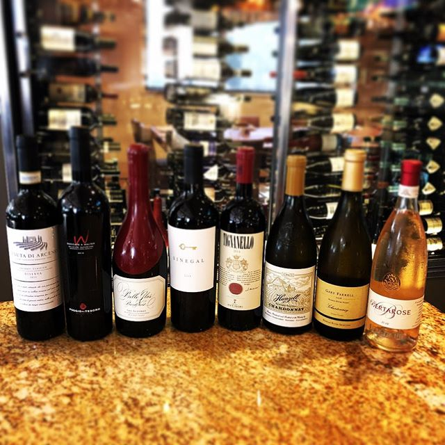 Newest additions to our wine list: @hanzellfarm @bellegloswines @sinegalestate  @marchesiantinori @allegrini.winery