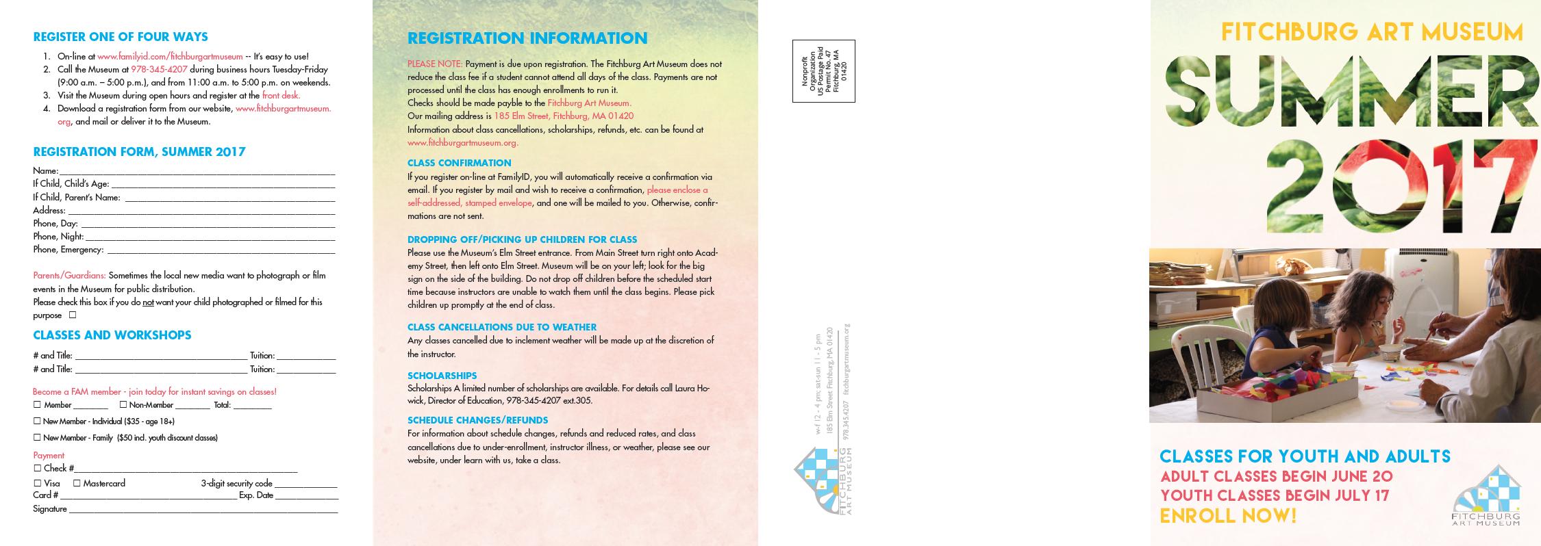 FAM classes Brochure_2017