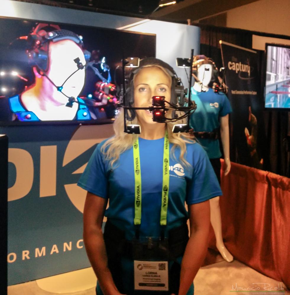 Armazón para capturar expresiones y gestos faciales en tiempo real