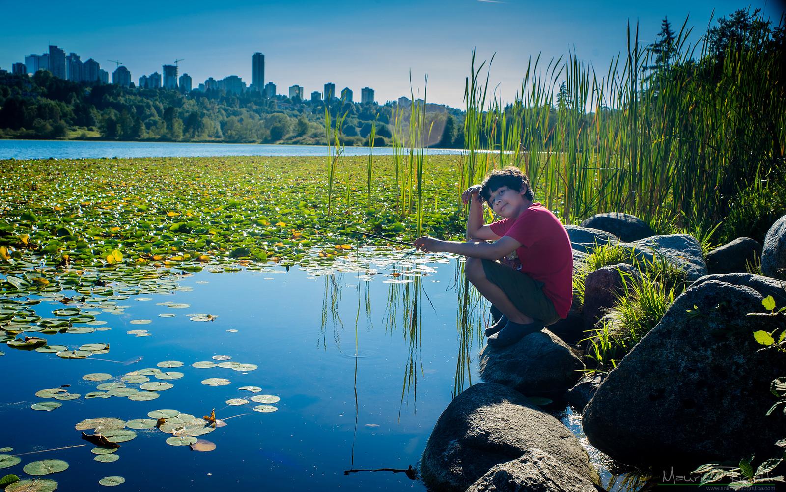 Disfrutando un día en el Lago de los Ciervos