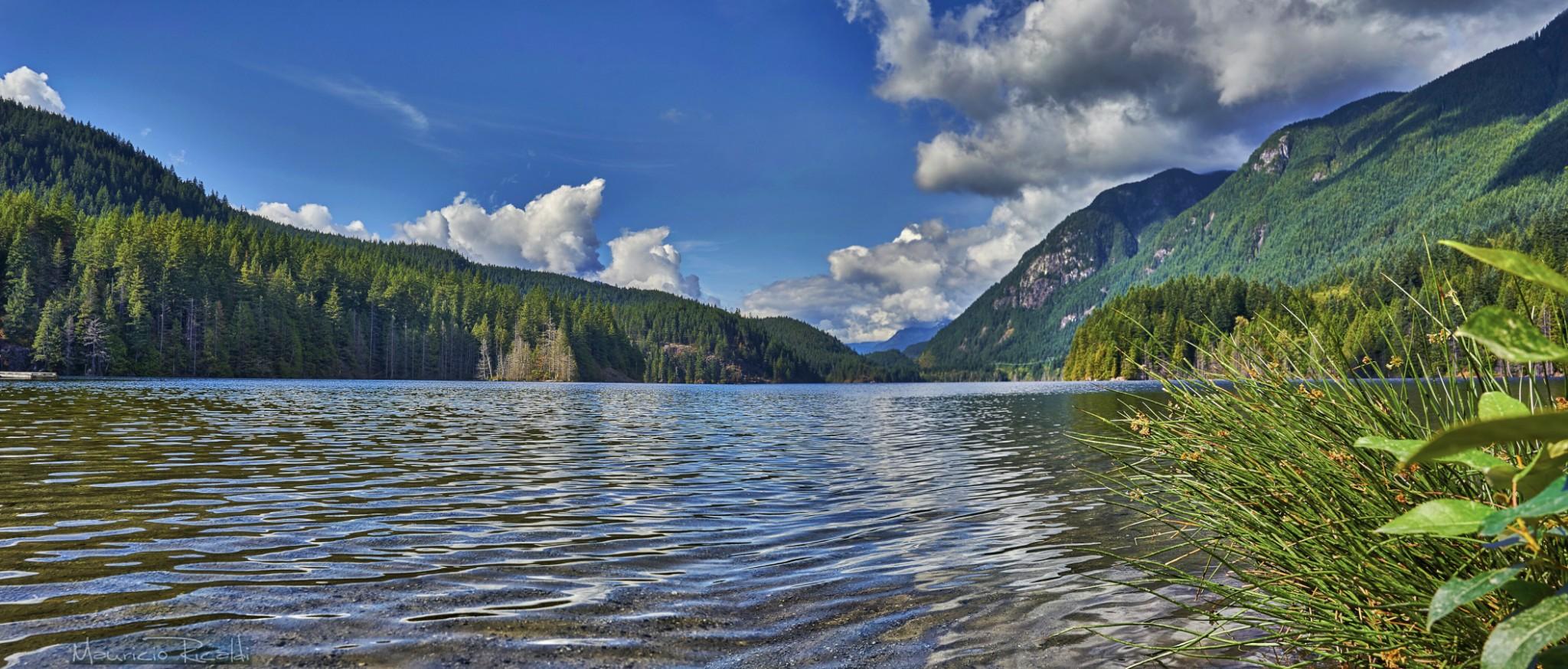 Los lagos en el verano